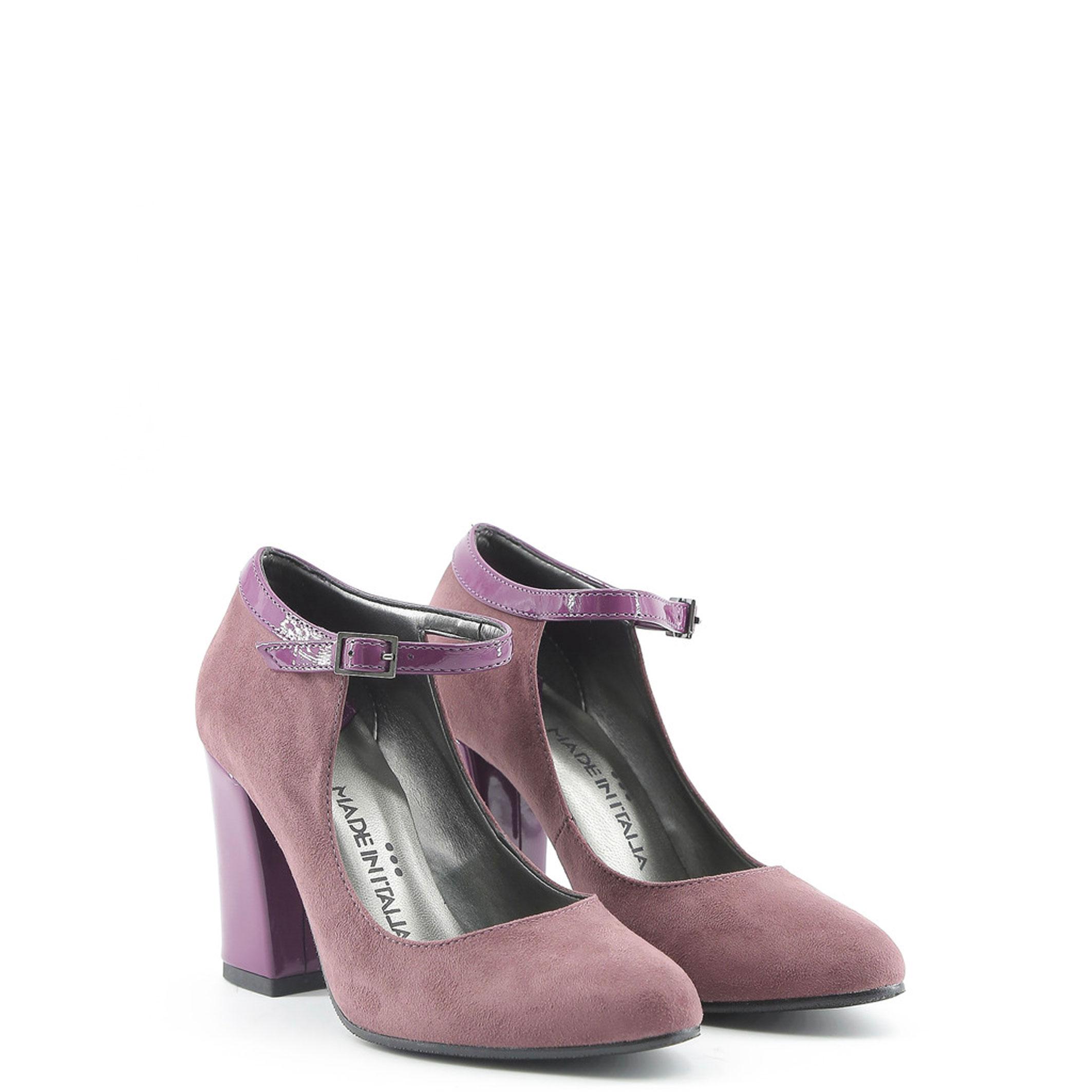 Schuhe BIANCA, Damen hochzeit High Heels Violett/Schwarz pumps hochzeit Damen a3d918