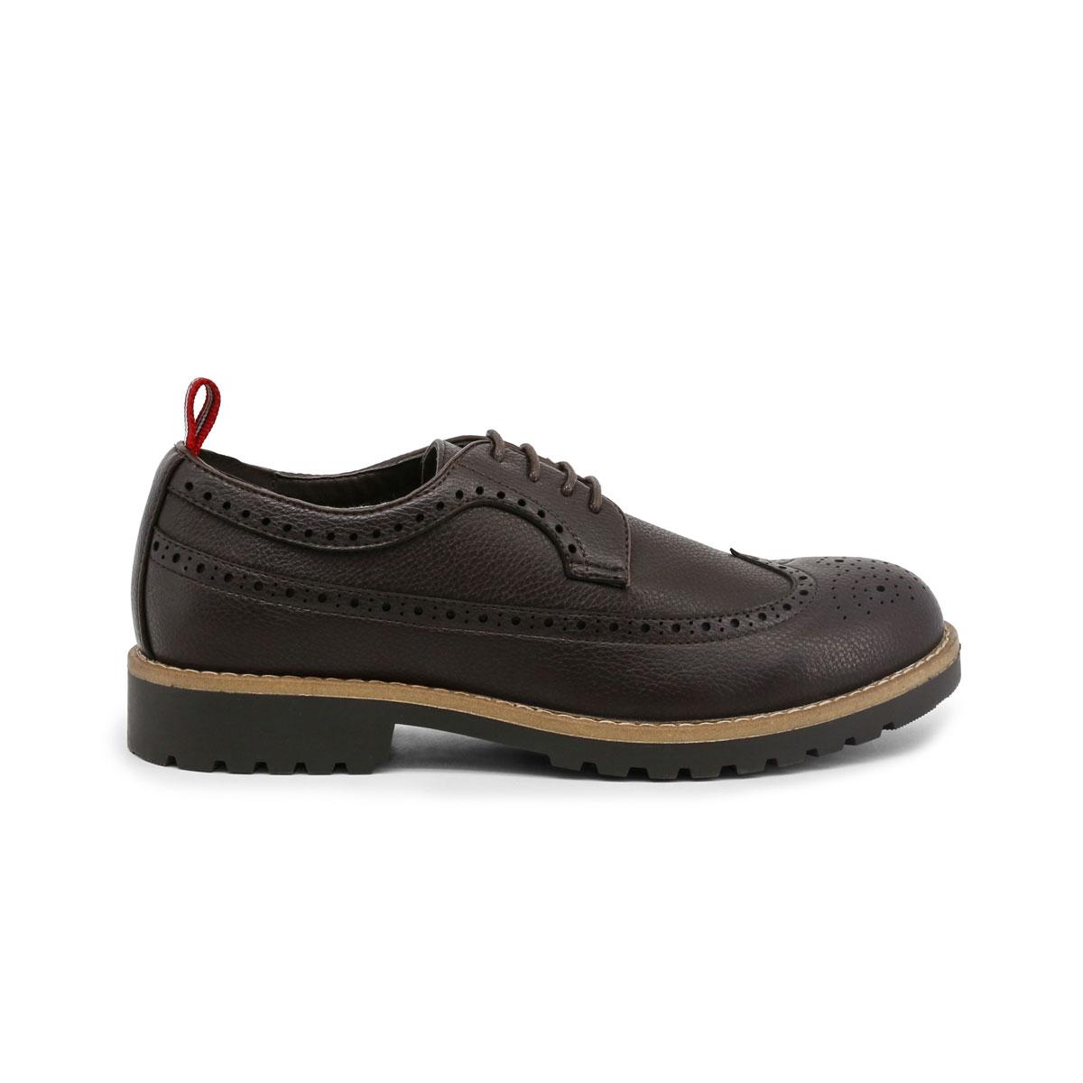 Scarpe-stringate-Duca-di-Morrone-BRADFORD-Uomo-Marrone-83688 miniatura 2