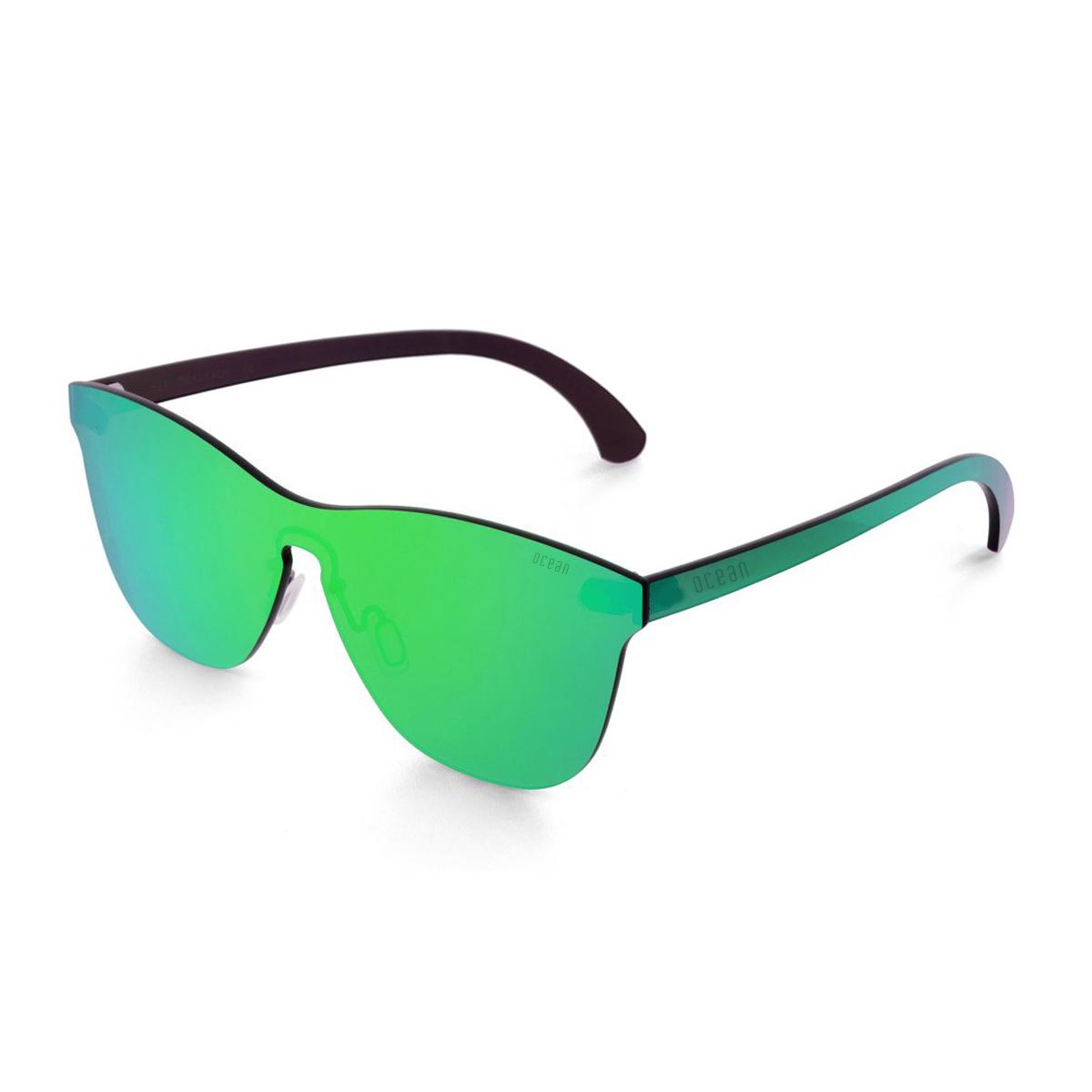 Ocean Eye, Occhiali da Sole Unisex Adulto, Verde, 58