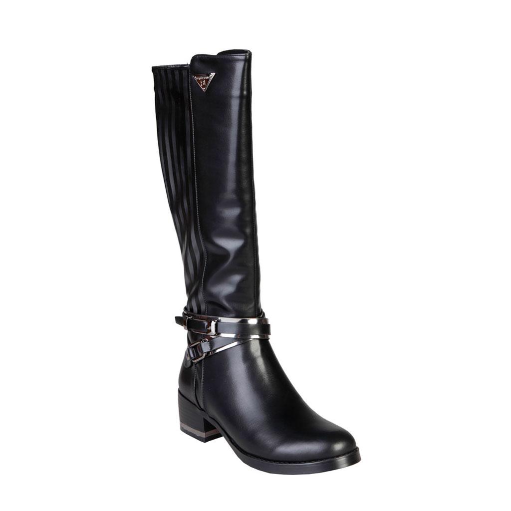 Stivali-Laura-Biagiotti-2186-Donna-Nero-84724 miniatura 2