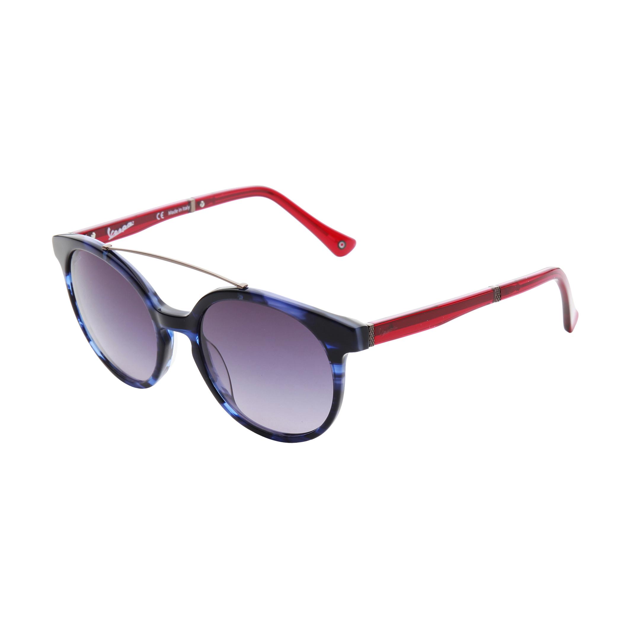 Sito Ufficiale Vespa Unisex Accessori Designer Occhiali Da Sole Blu Sunglasses СОЛНЦЕЗАЩИТНЫЕ о- Profitto Piccolo