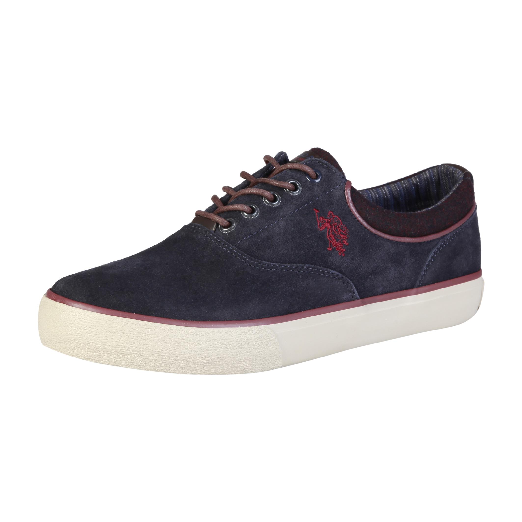U.S. Polo Blau/Braun Schuhe GALAN4204W7, Herren Sneakers Blau/Braun Polo Herbst/Winter 71953f