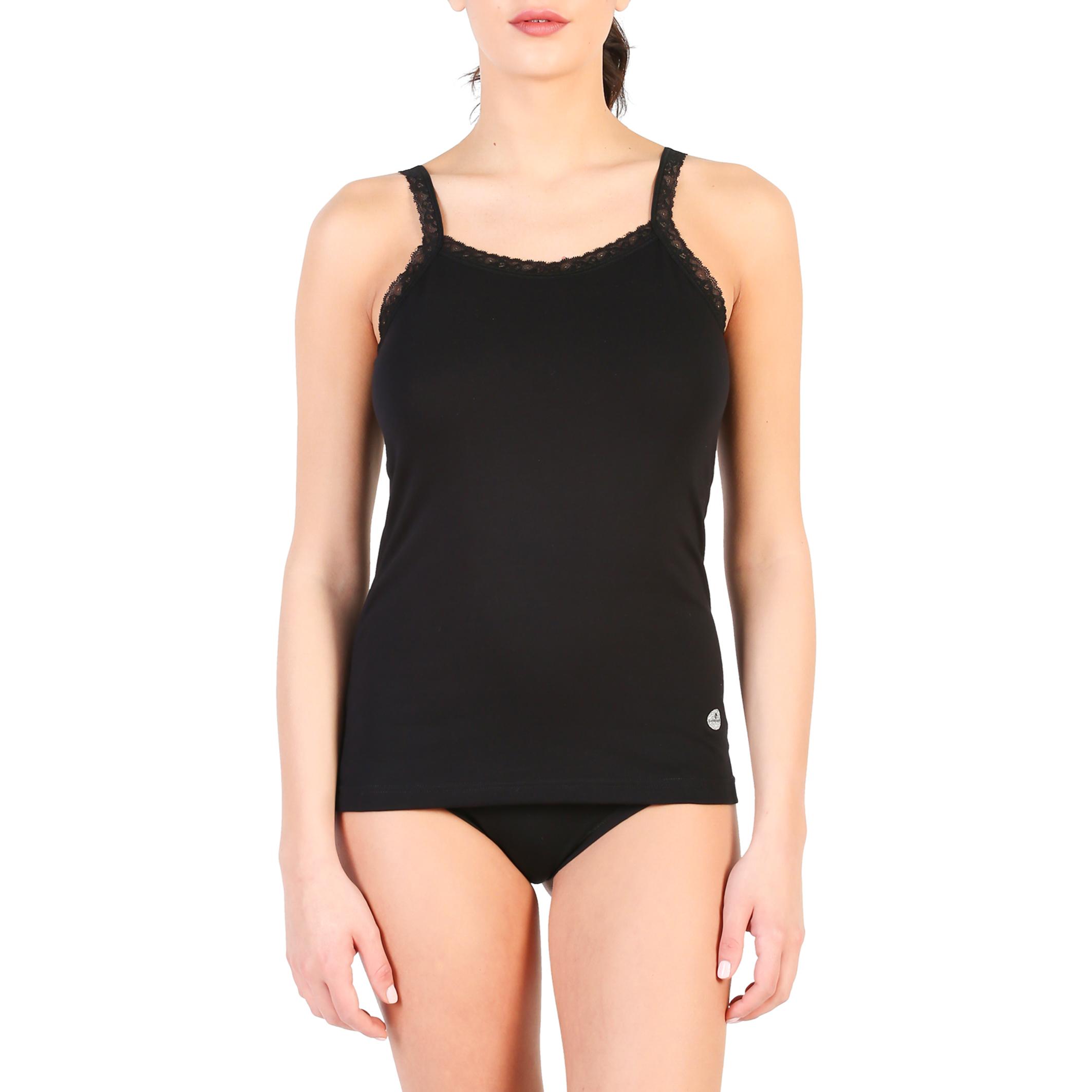 Pierre Cardin underwear PC_CAMELIA_C Donna Nero 87825
