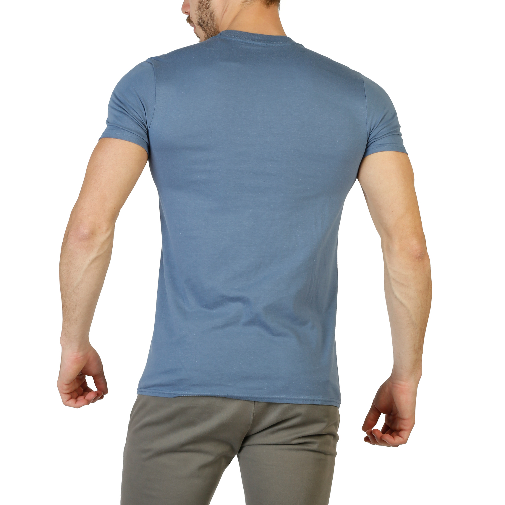 Camisetas-DC-Comics-Hombre-RGMTS211-Blanco-Gris-Azul-Primavera-Verano