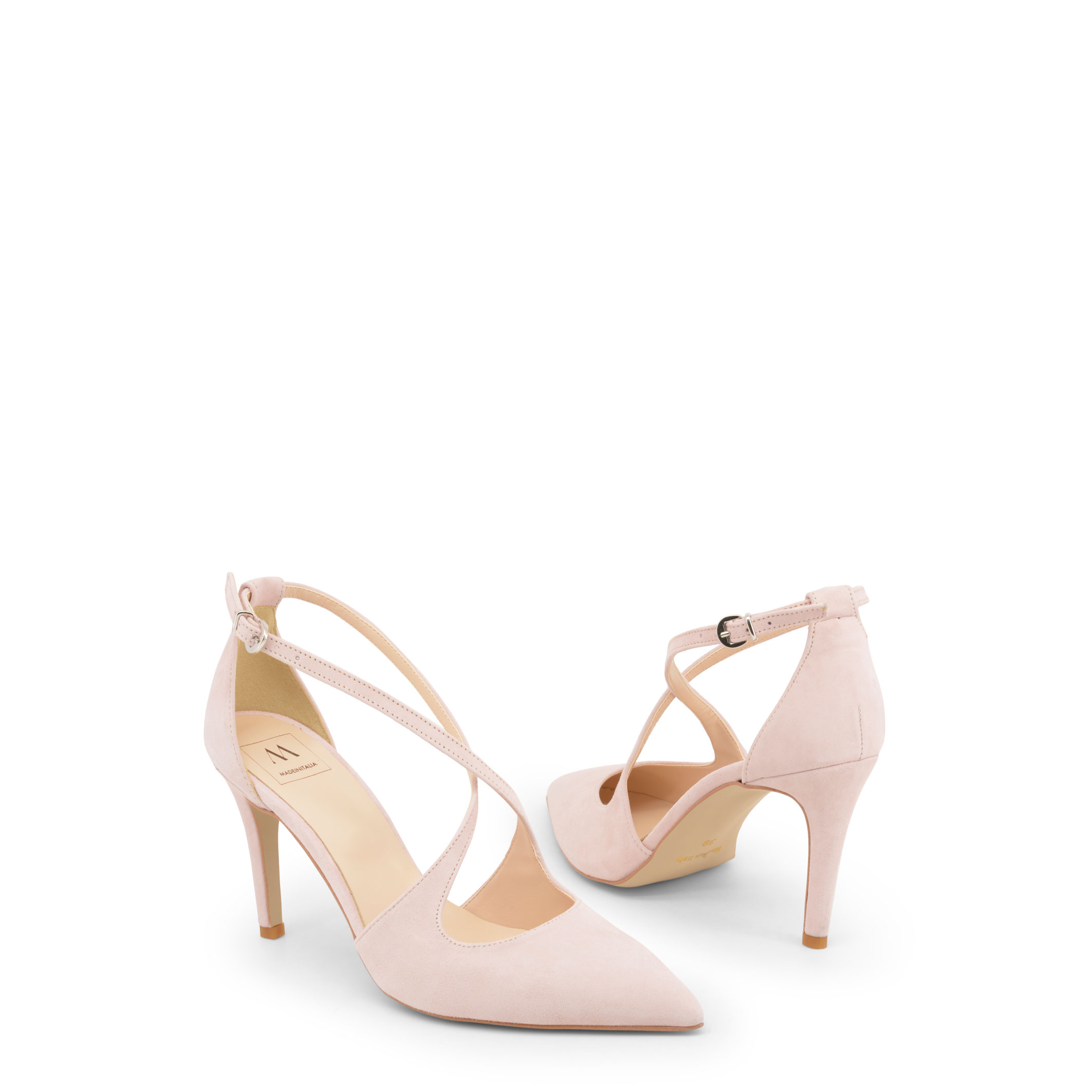 Zapatos-Made-in-Italia-Mujer-AMERICA-Sandalias-Marron-Azul-Rosa-cuna-tacon
