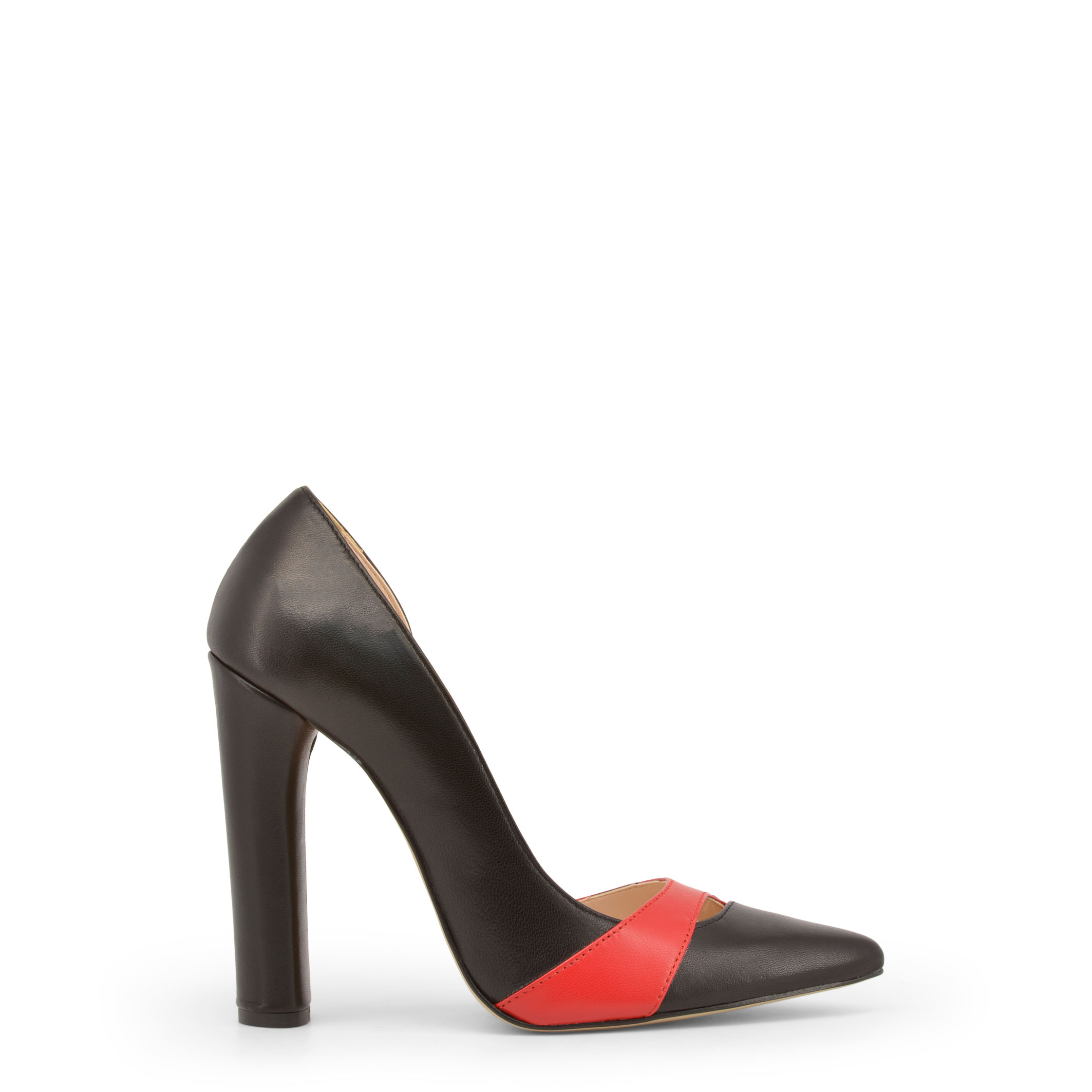Made-in-Italia-Designer-Markenschuhe-Schuhe-Damen-High-Heels-Schwarz-Schuh