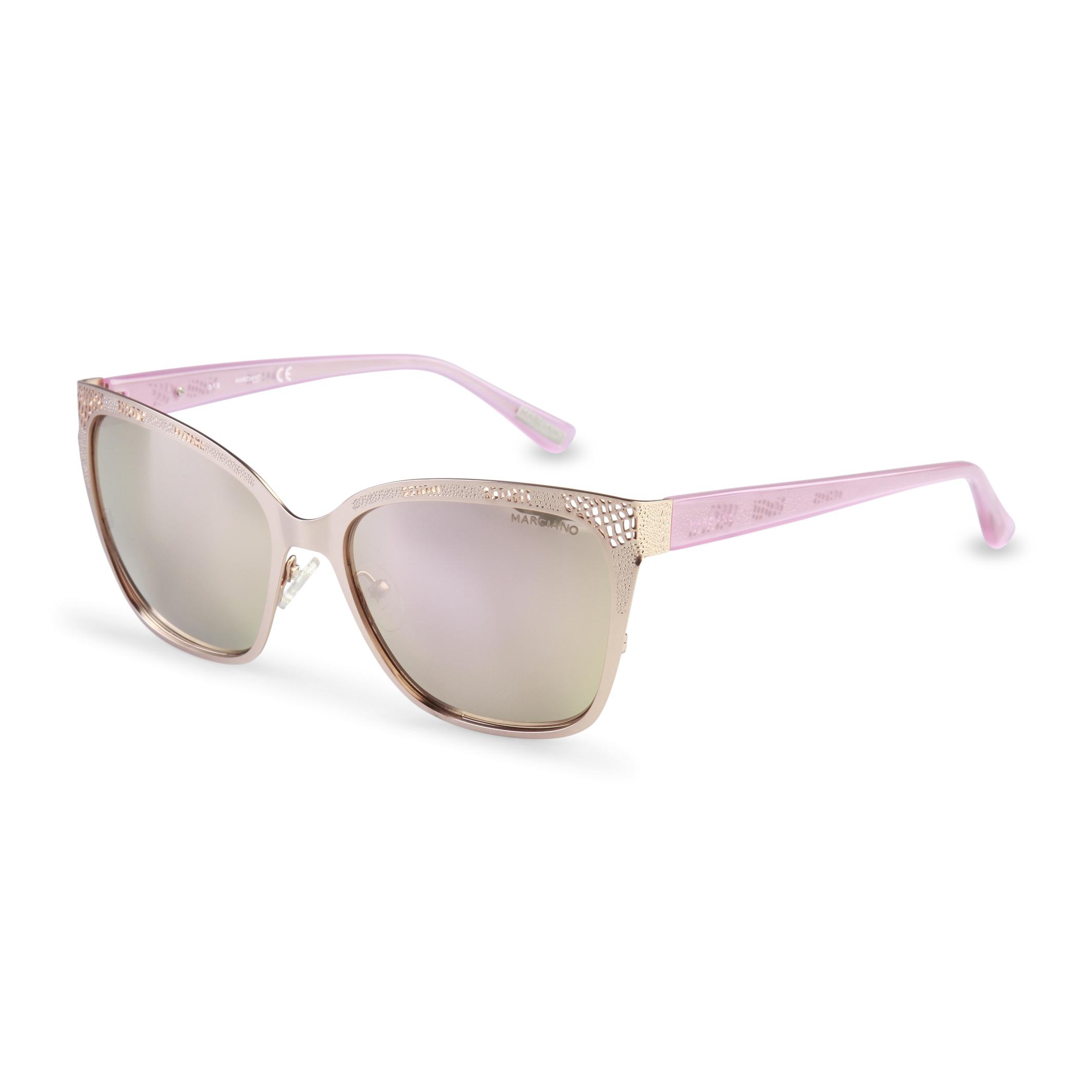 Lunettes-de-soleil-Guess-Femme-GM0742-Bleu-Brun-Rose-Noir-Printemps-Ete