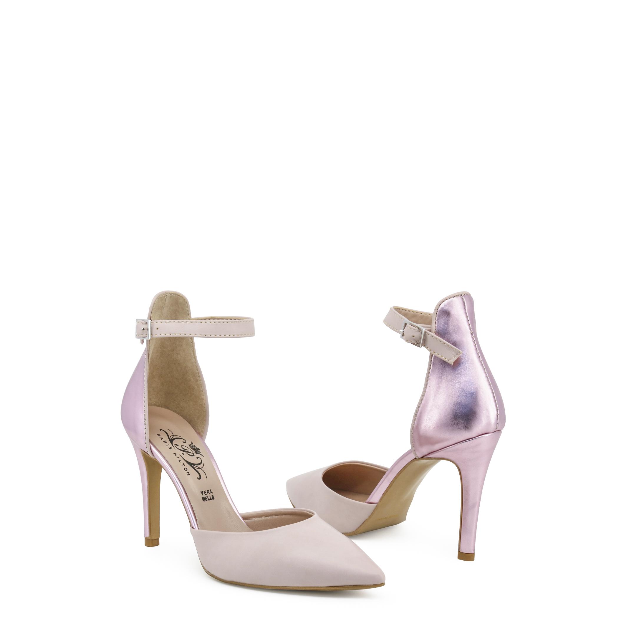 Paris Hilton Donna 6432, Sandali Rosa/Nero Primavera/Estate cbacea