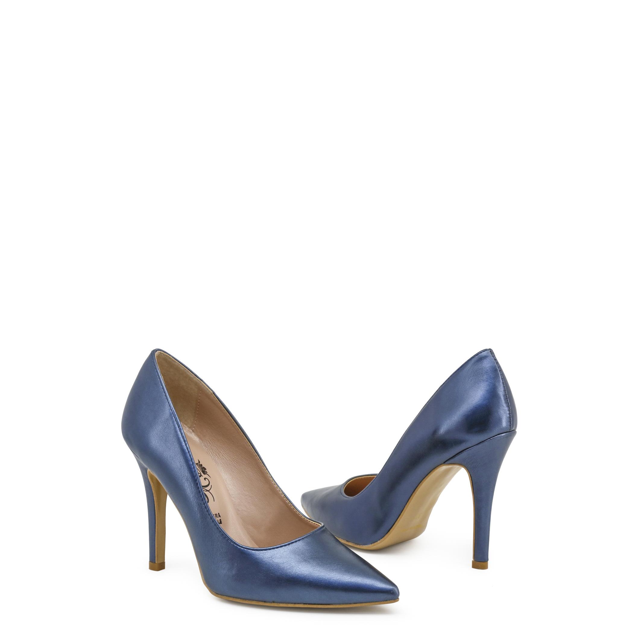 Paris Damen Hilton Schuhe 2760, Damen Paris High Heels Gelb/Blau Frühling/Sommer pumps hochz 8174c4
