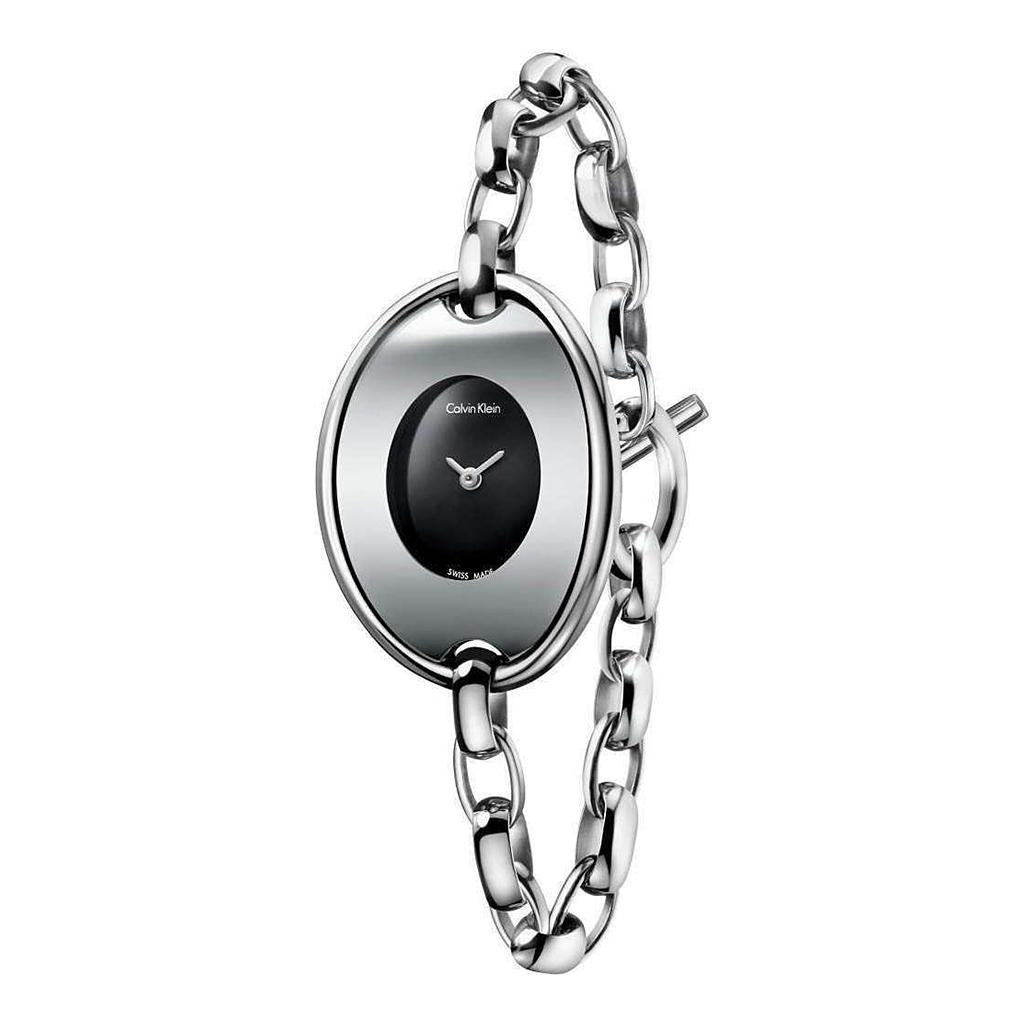 Orologi Calvin Klein K3H2M1 Donna Grigio 91593