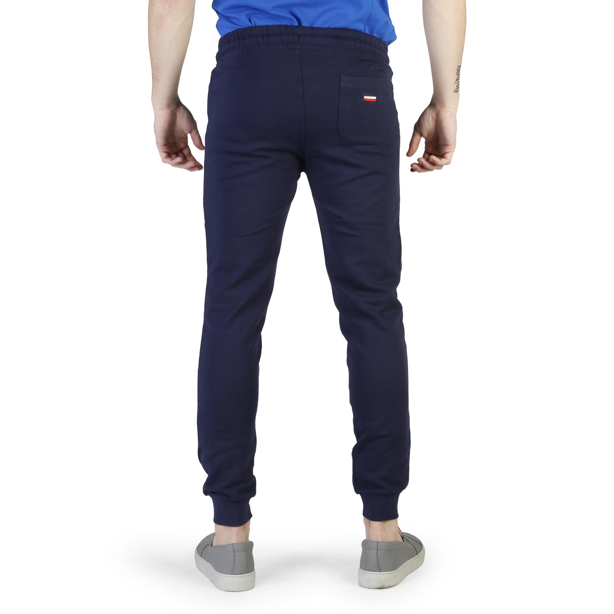 Pantalon-de-jogging-U-S-Polo-Homme-50066-49349-Gris-Bleu-Printemps-Ete