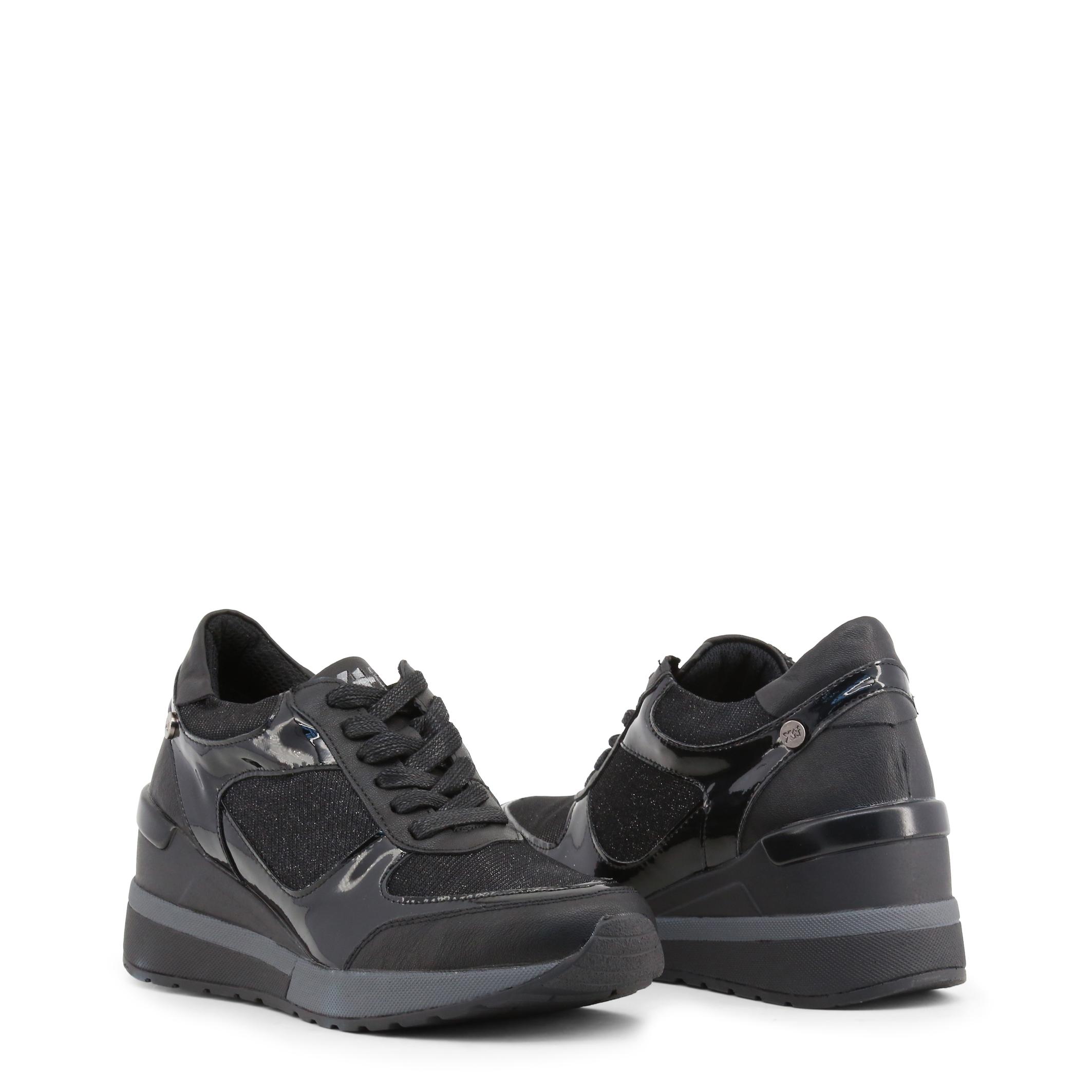 Xti Schuhe 47411, Damen Sneakers freizeit Grau/Blau/Schwarz turnschuhe freizeit Sneakers 992271