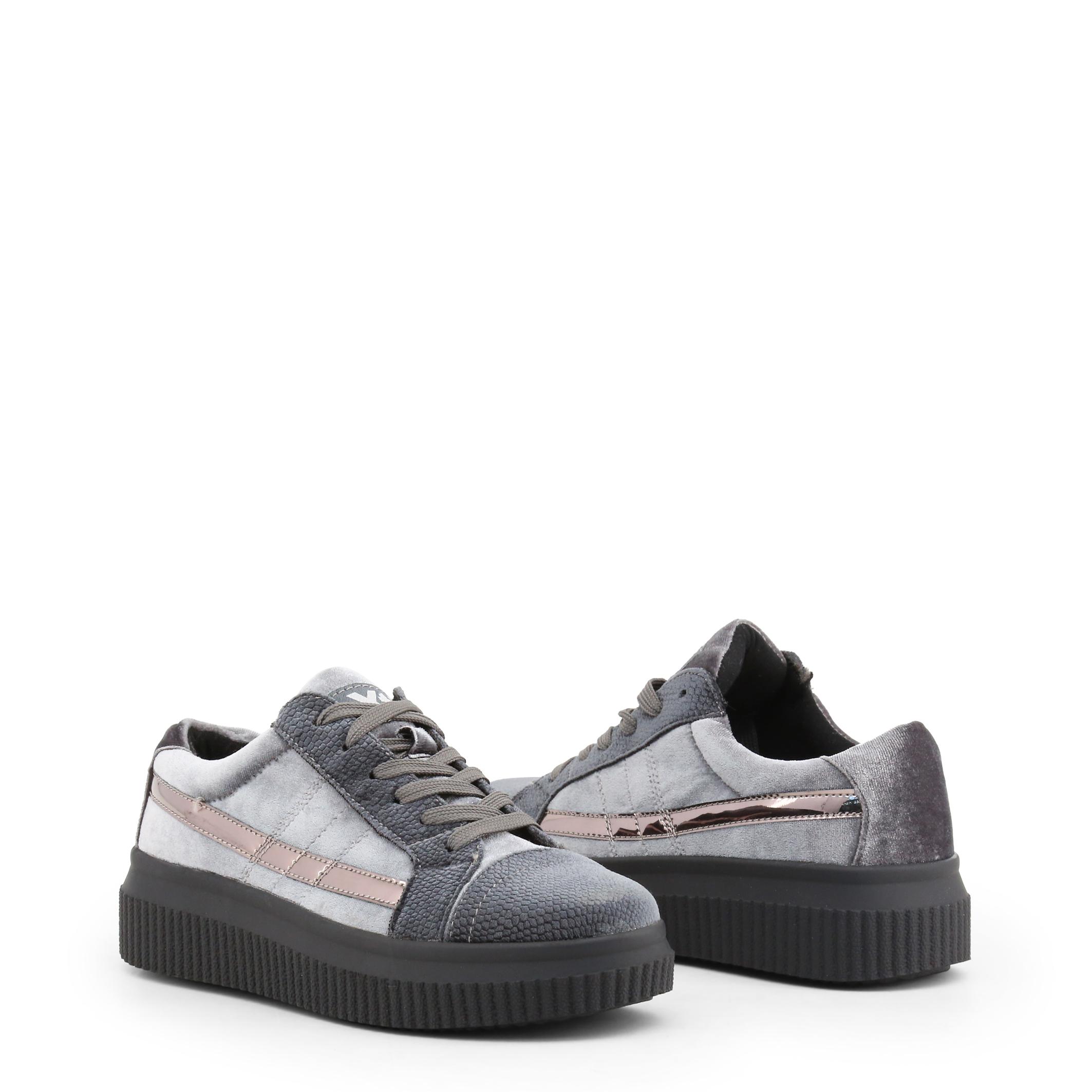 Xti Schuhe Turnschuhe 47537 Damen Sneakers Blau Grau Violett