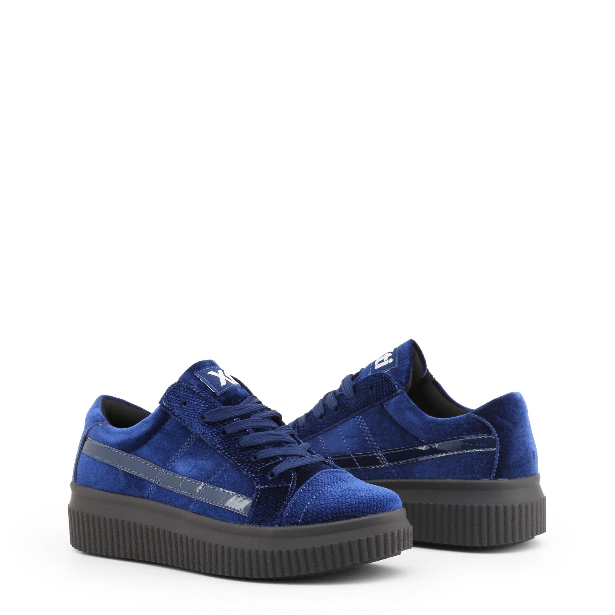 Xti Schuhe turnschuhe 47537, Damen Sneakers Blau/Grau/Violett/Schwarz turnschuhe Schuhe freizeit a523bc