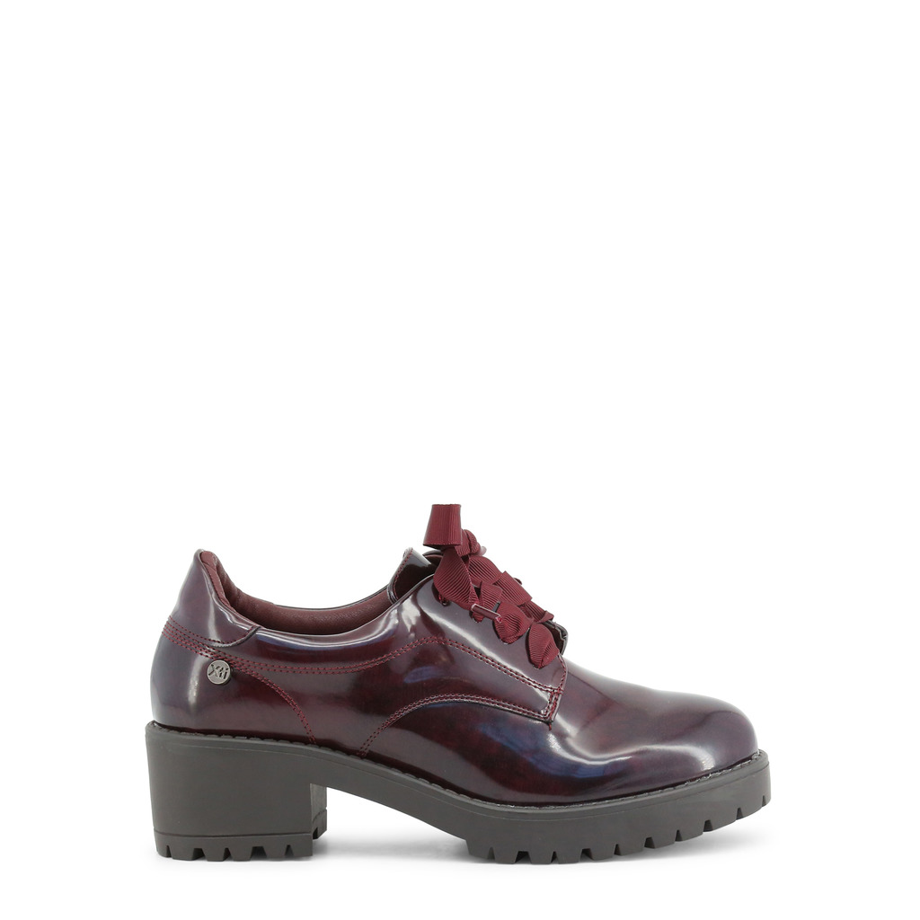 Pantofi cu sireturi Xti 47543_BURGUNDY