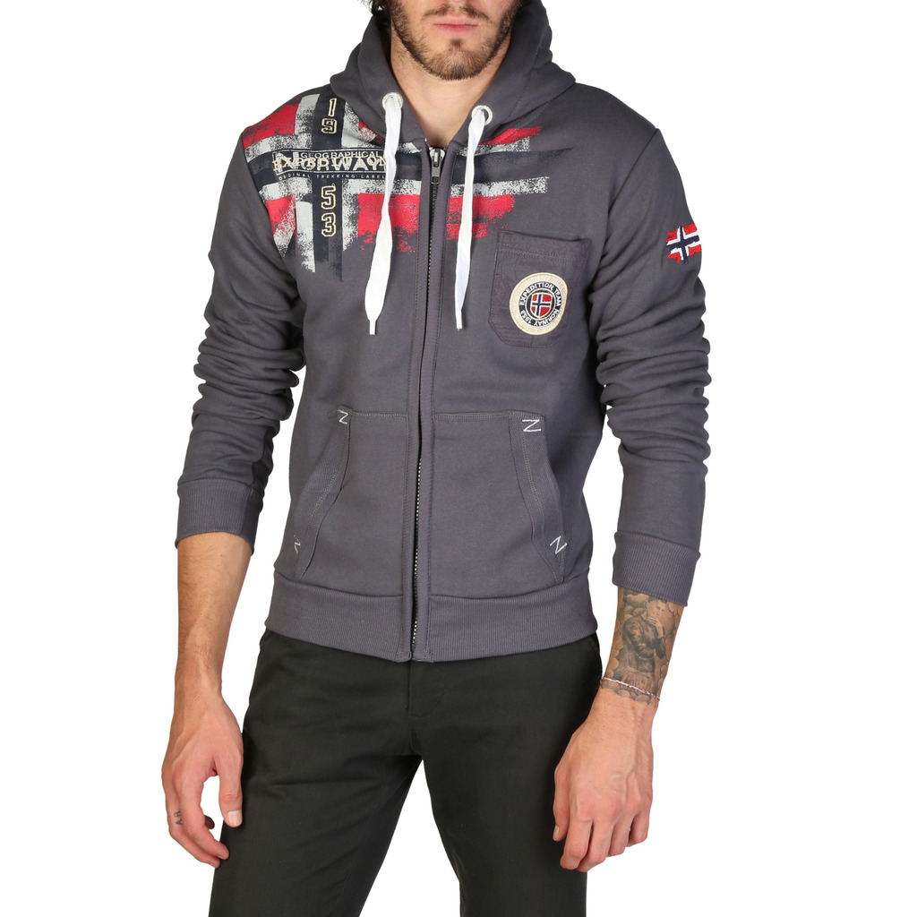 Hanorac Geographical Norway Fespote_man_darkgrey