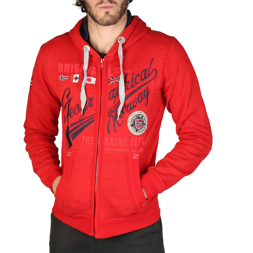 Hanorac Geographical Norway Foliday_man_red
