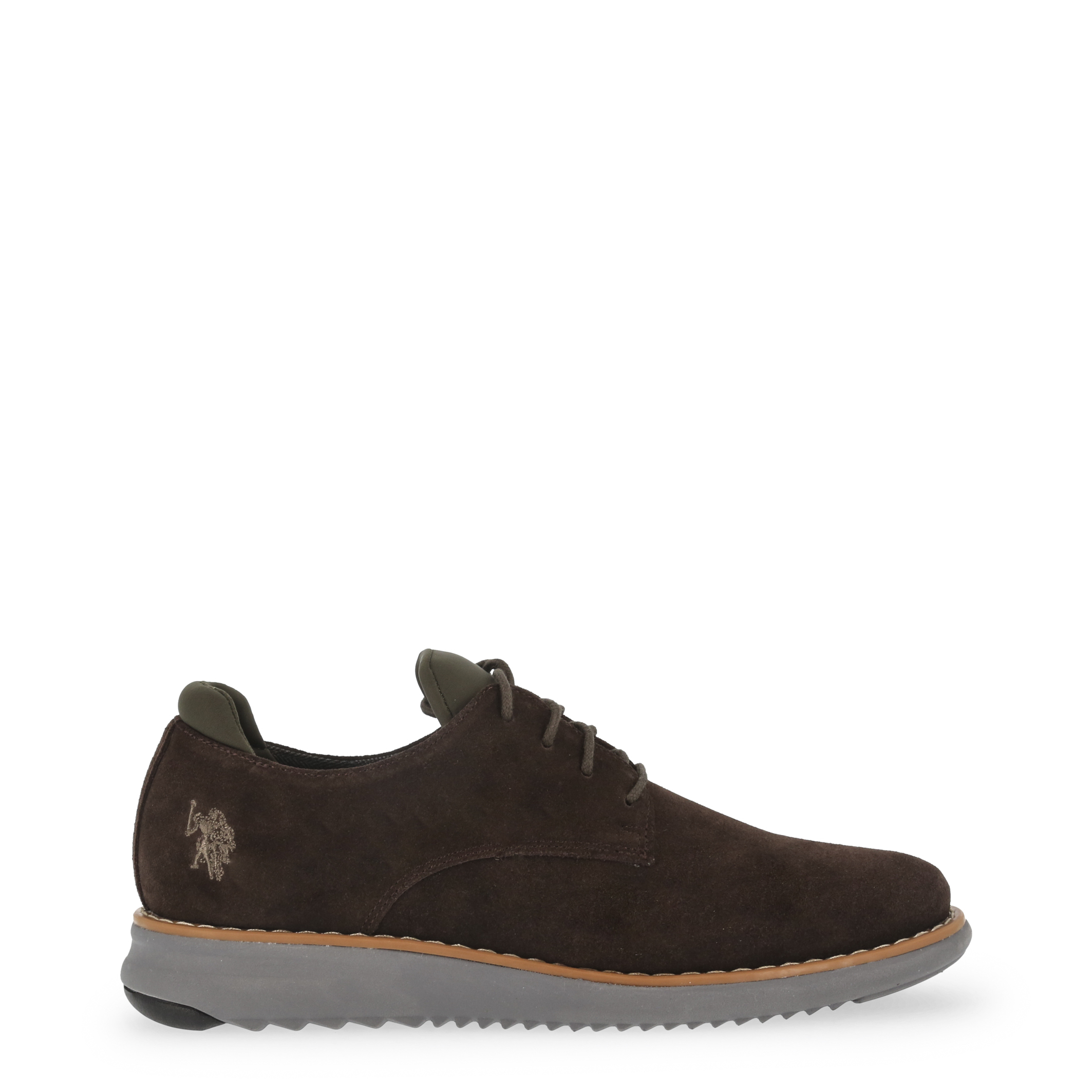 U-S-Polo-Assn-Men-039-s-Lace-Up-In-Brown-44