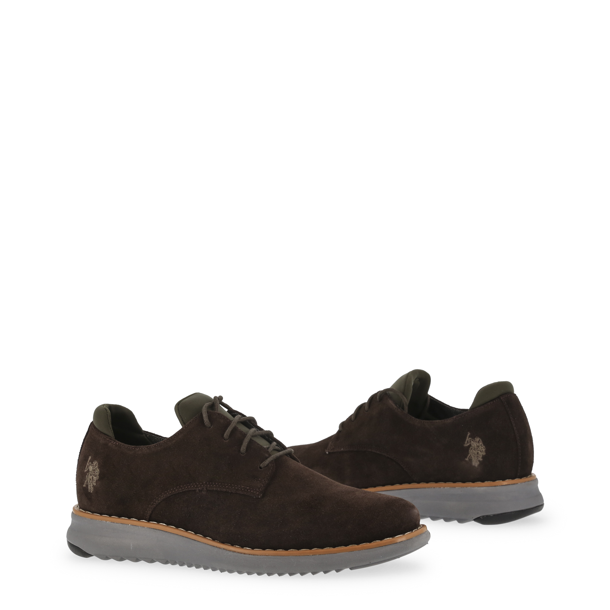 U-S-Polo-Assn-Men-039-s-Lace-Up-In-Brown-44 thumbnail 2