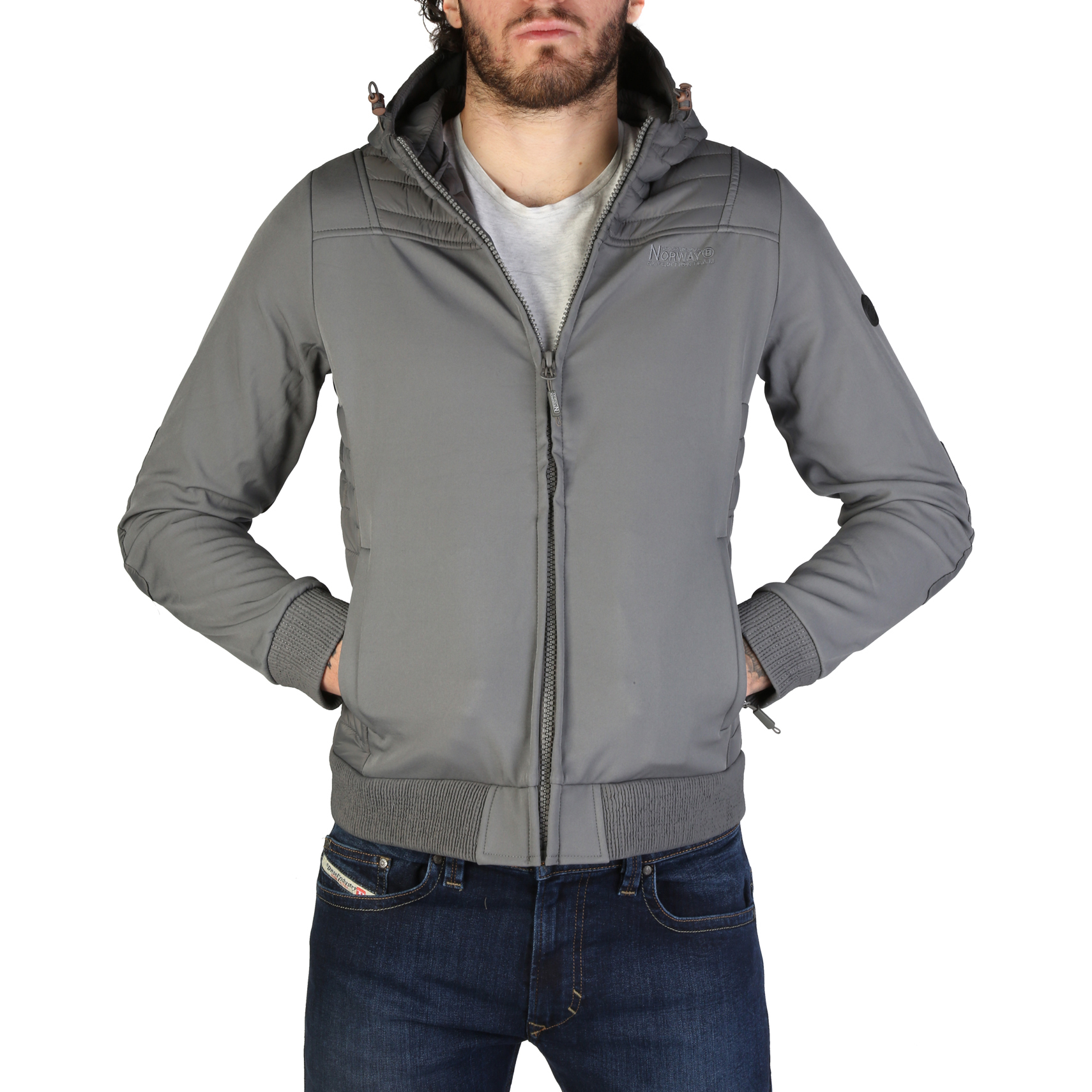 Giacche Geographical Norway Chaleur_man Uomo Grigio 95048