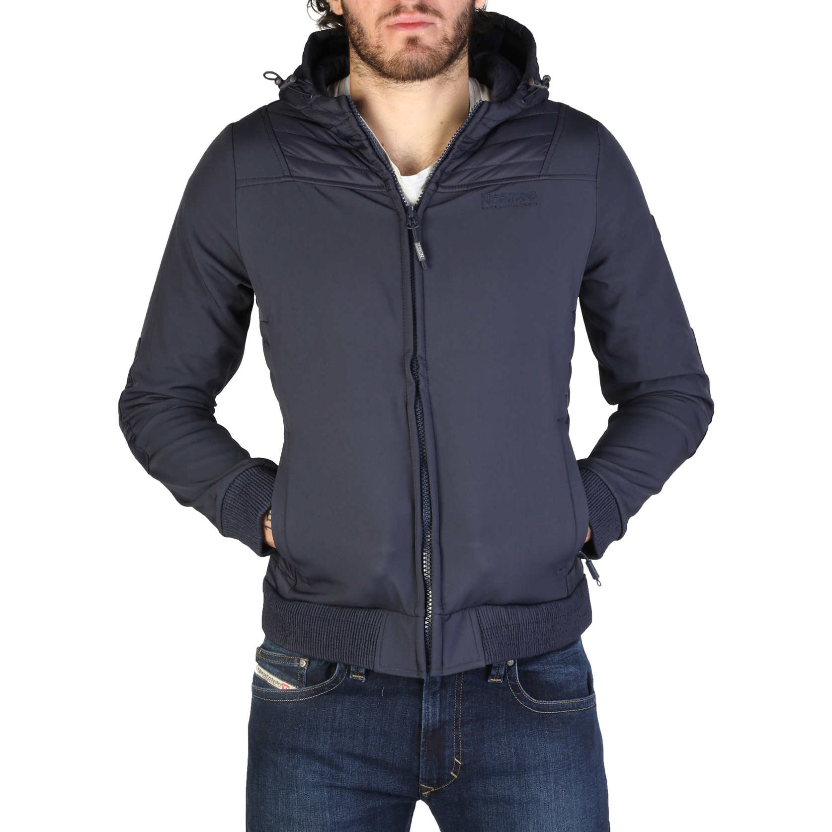 Giacche Geographical Norway Chaleur_man Uomo Blu 95049