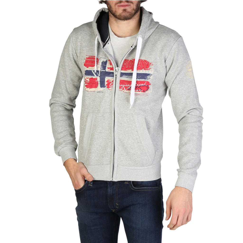 Hanorac Geographical Norway Gayto_man_bgrey-navy