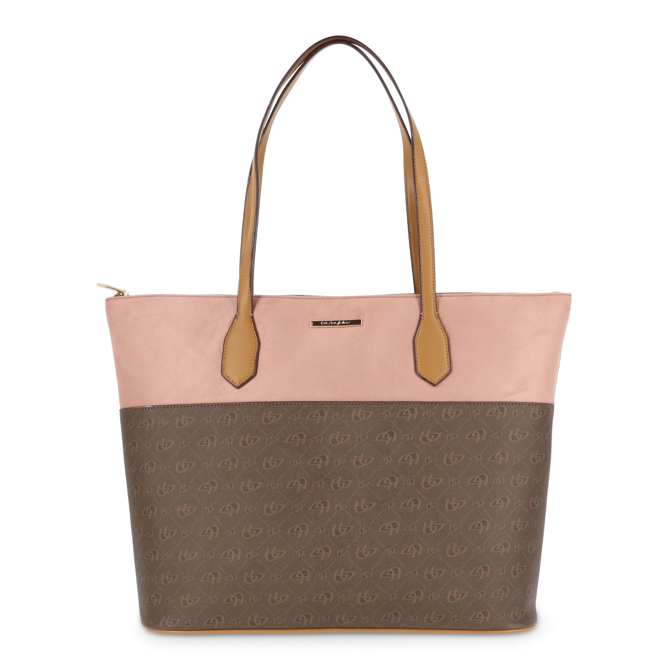Shopping bag Blu Byblos HOLDME_685753 Donna Marrone 95109