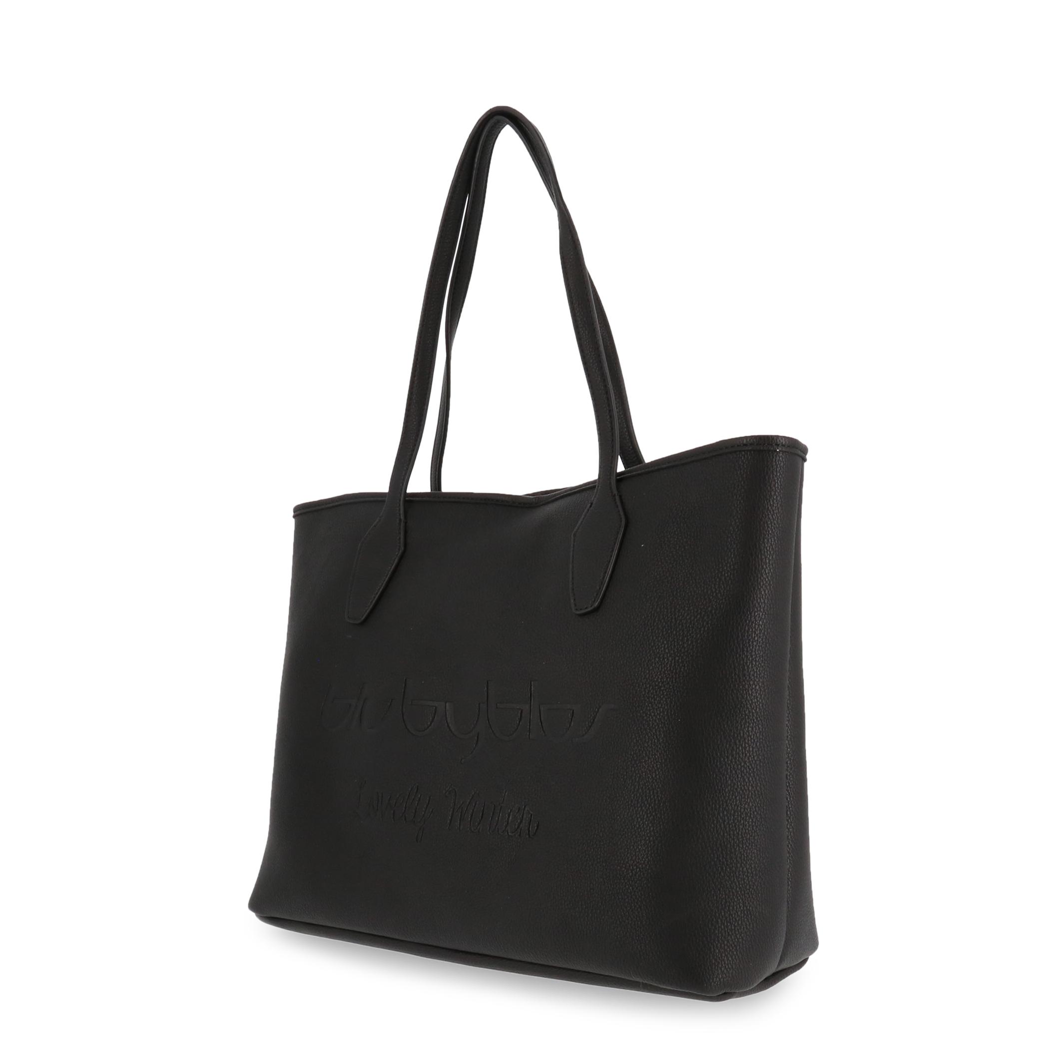 Shopping bag Blu Byblos LOVELYWINTER_685900 Donna Nero 95122
