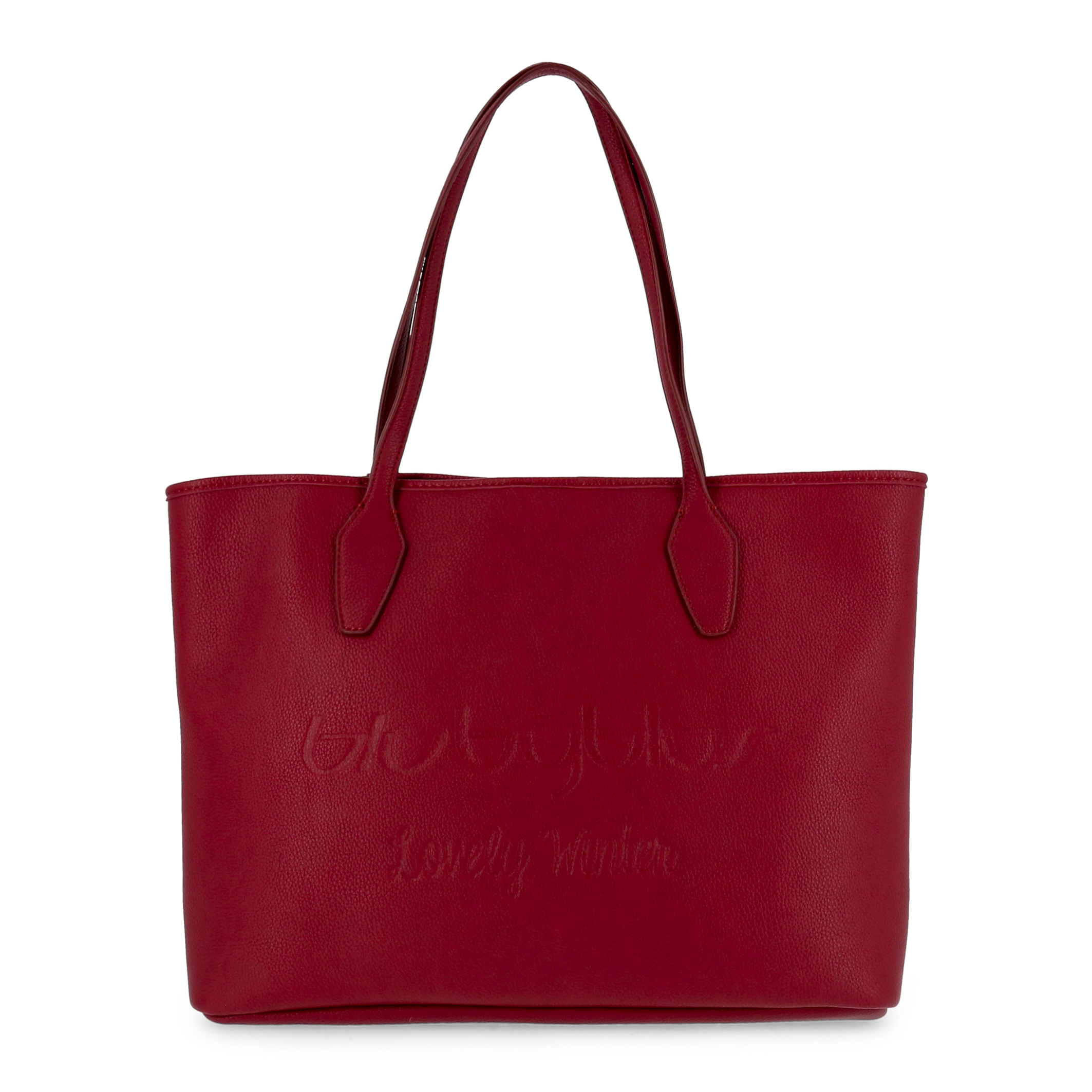 Shopping bag Blu Byblos LOVELYWINTER_685900 Donna Rosso 95123
