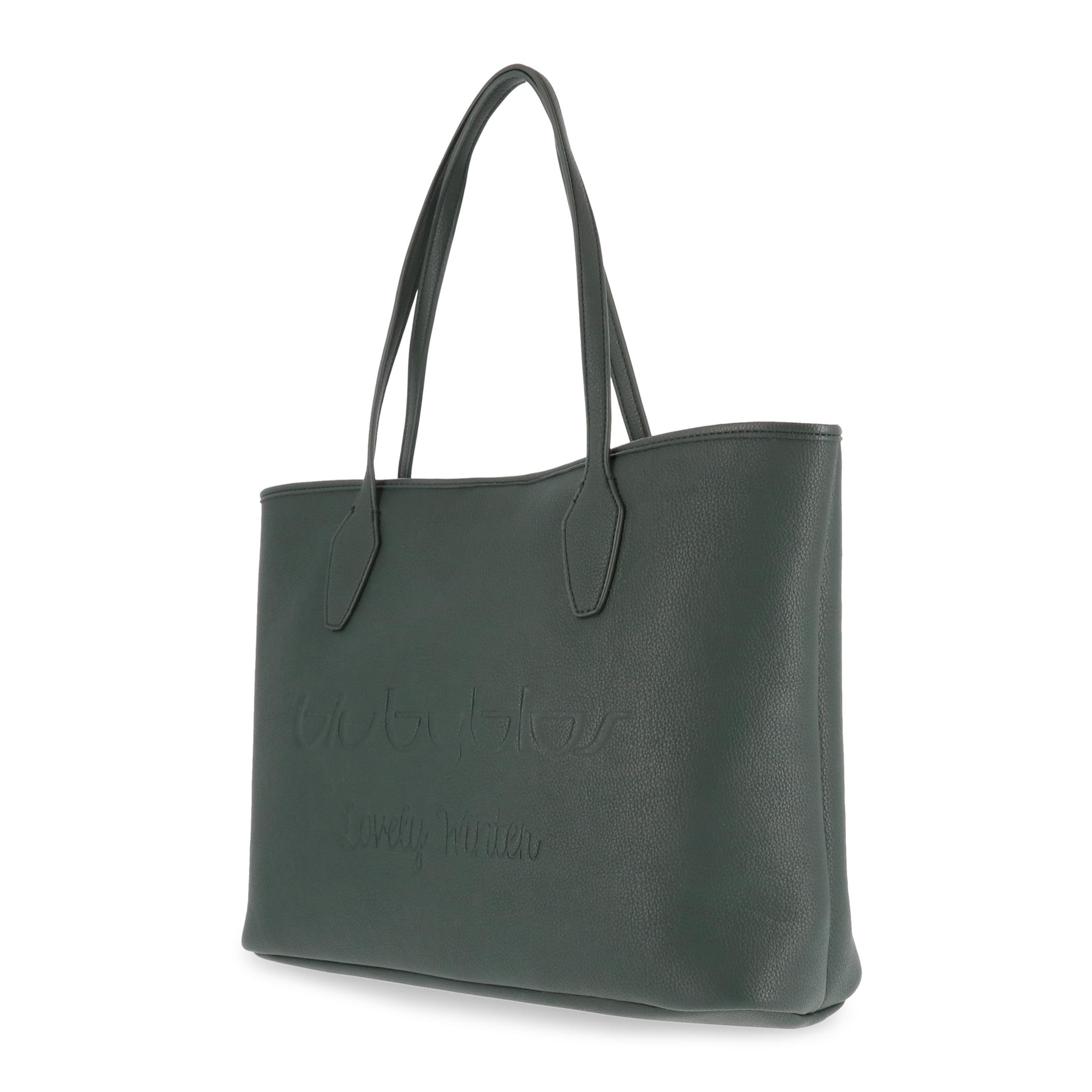 Shopping bag Blu Byblos LOVELYWINTER_685900 Donna Verde 95125