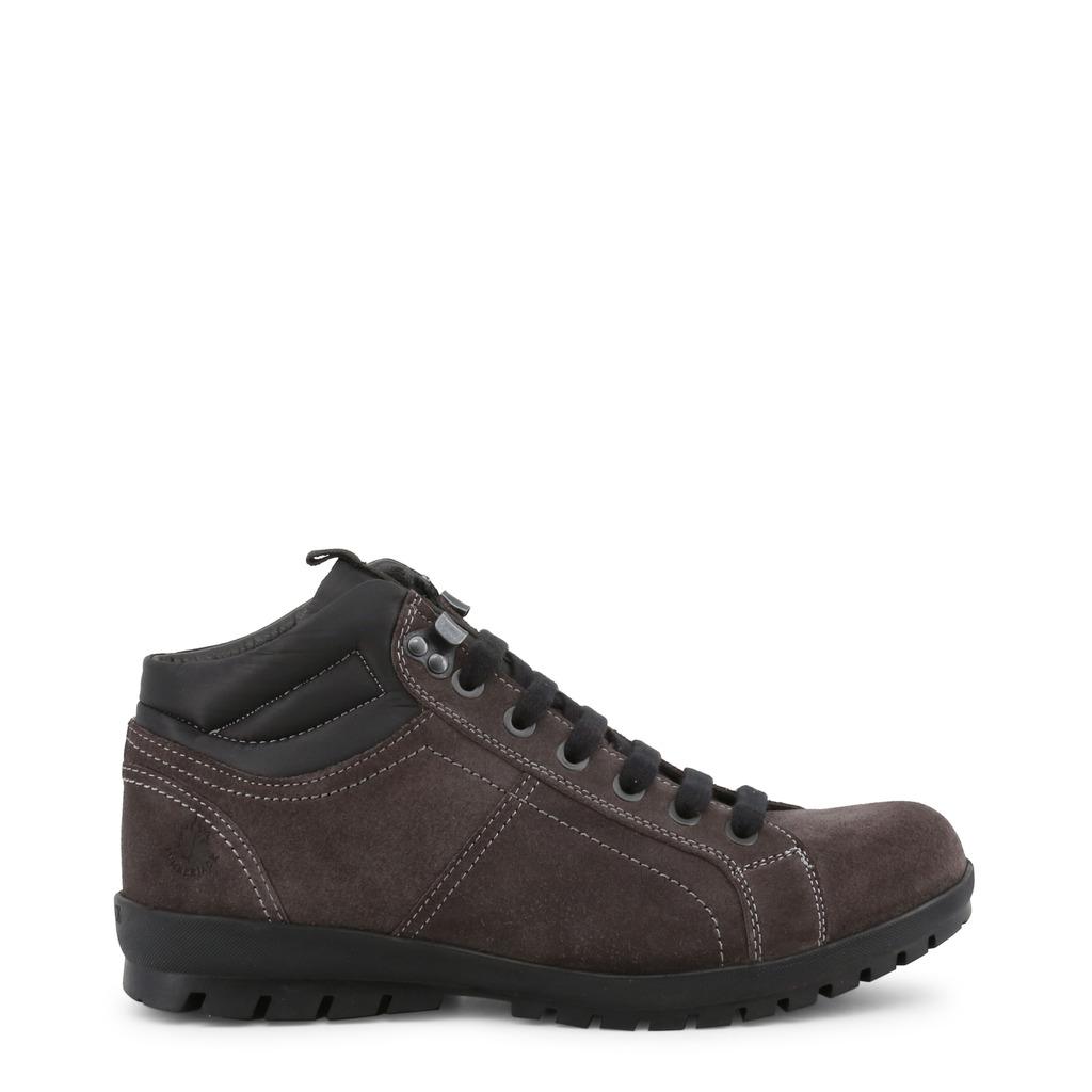 Pantofi cu sireturi Lumberjack ZERMATT_SM03101-010_DKGREY