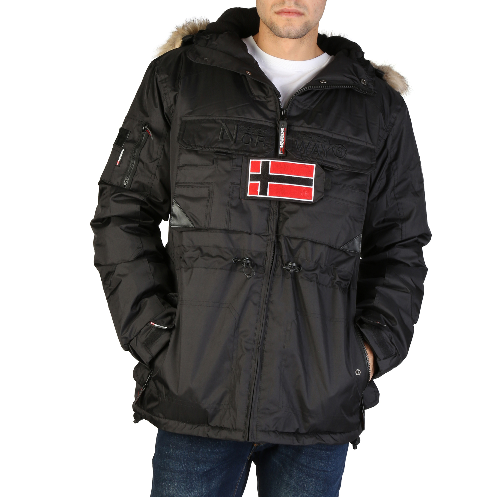 Giacche Geographical Norway Bantou_man Uomo Nero 95893