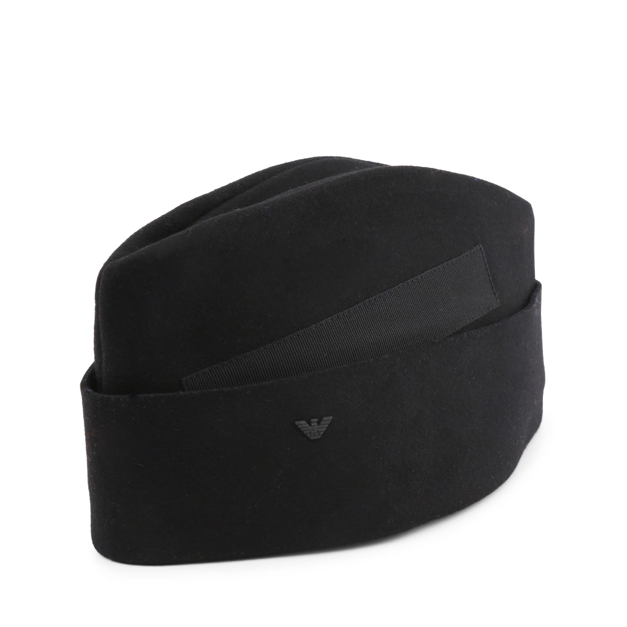 Cappello Emporio Armani 627737_5A600 Uomo Nero 97131