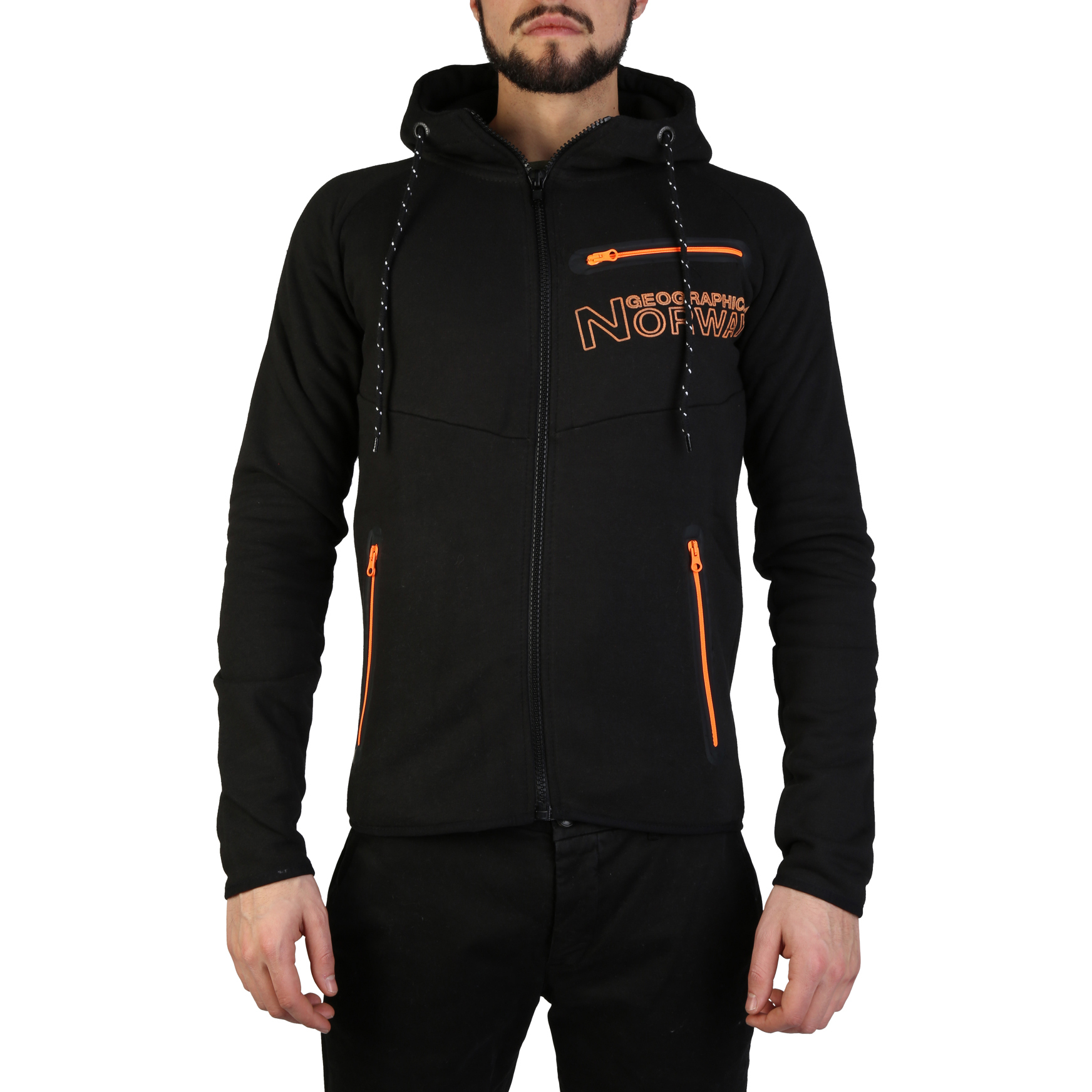 Felpe Geographical Norway Goltan_man Uomo Nero 97302