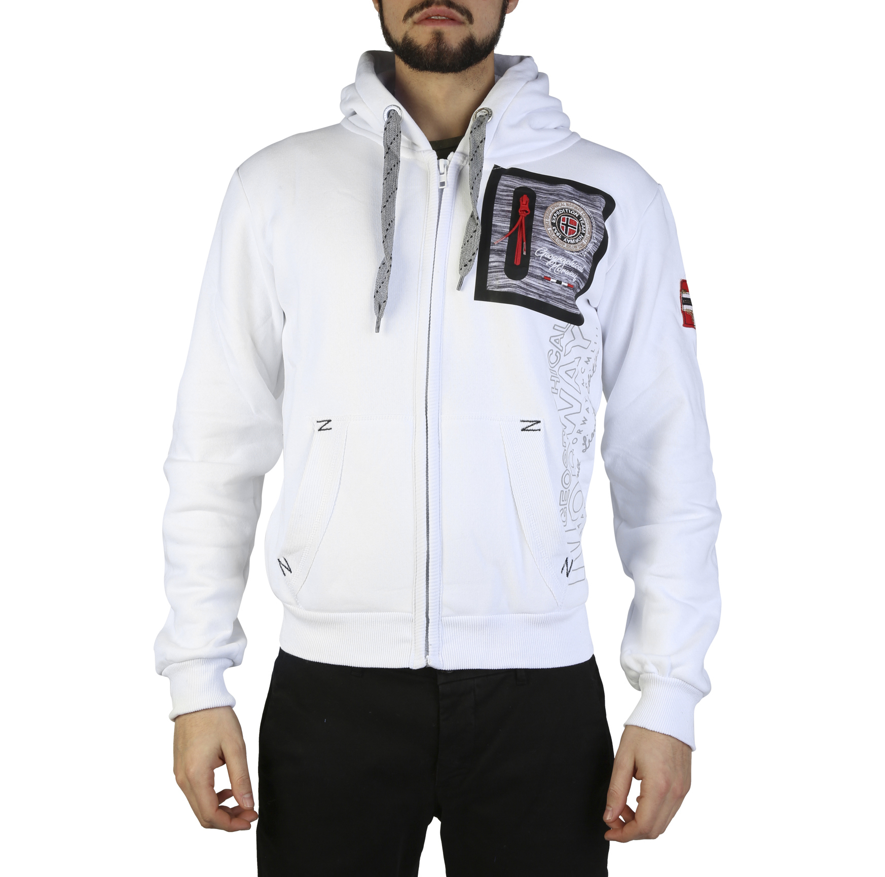 Felpe Geographical Norway Fitor_man Uomo Bianco 97317