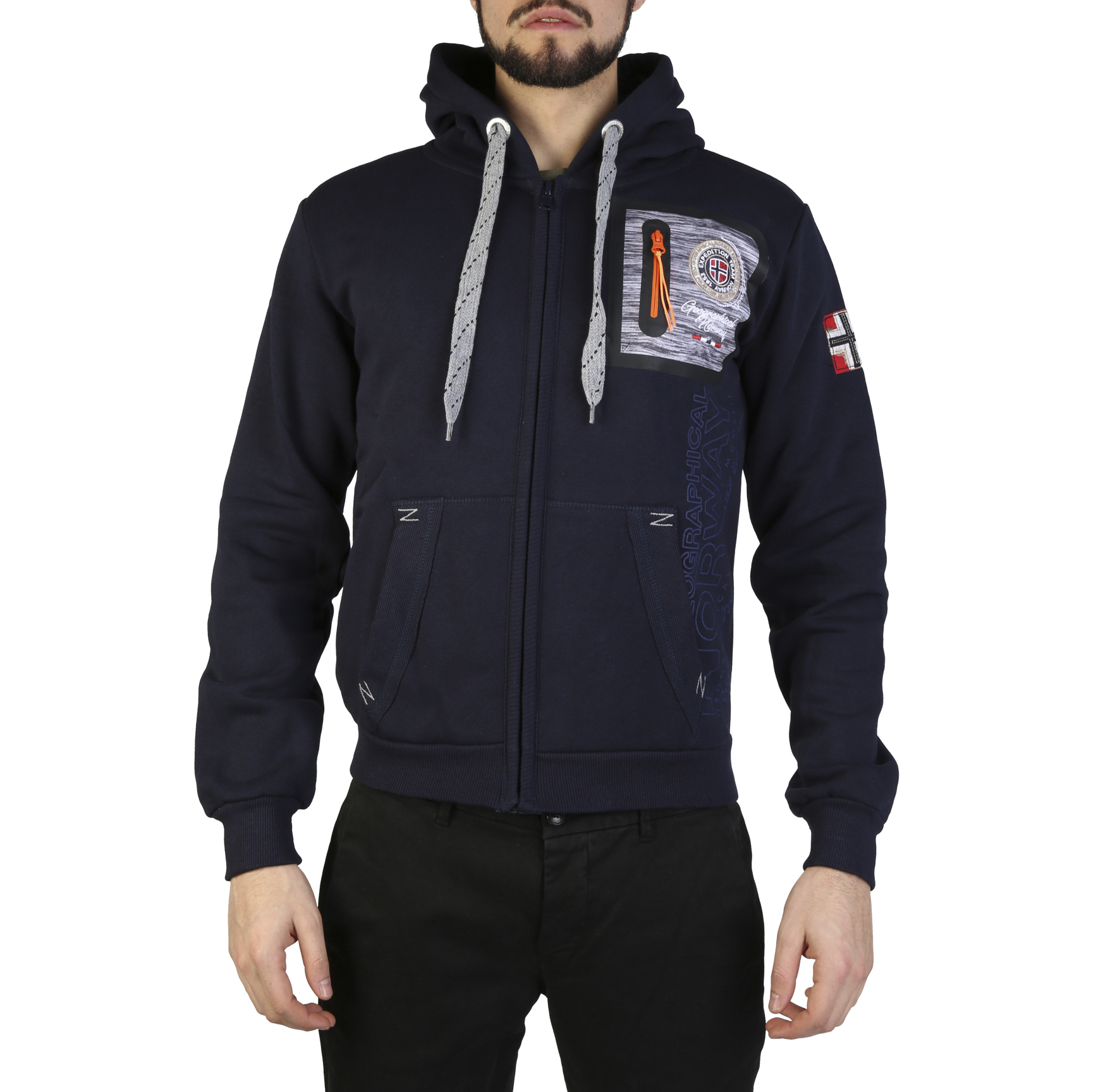 Felpe Geographical Norway Fitor_man Uomo Blu 97318
