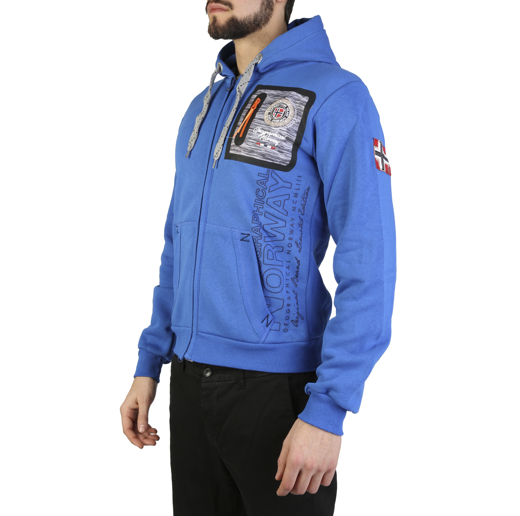 Felpe Geographical Norway Fitor_man Uomo Blu 97319