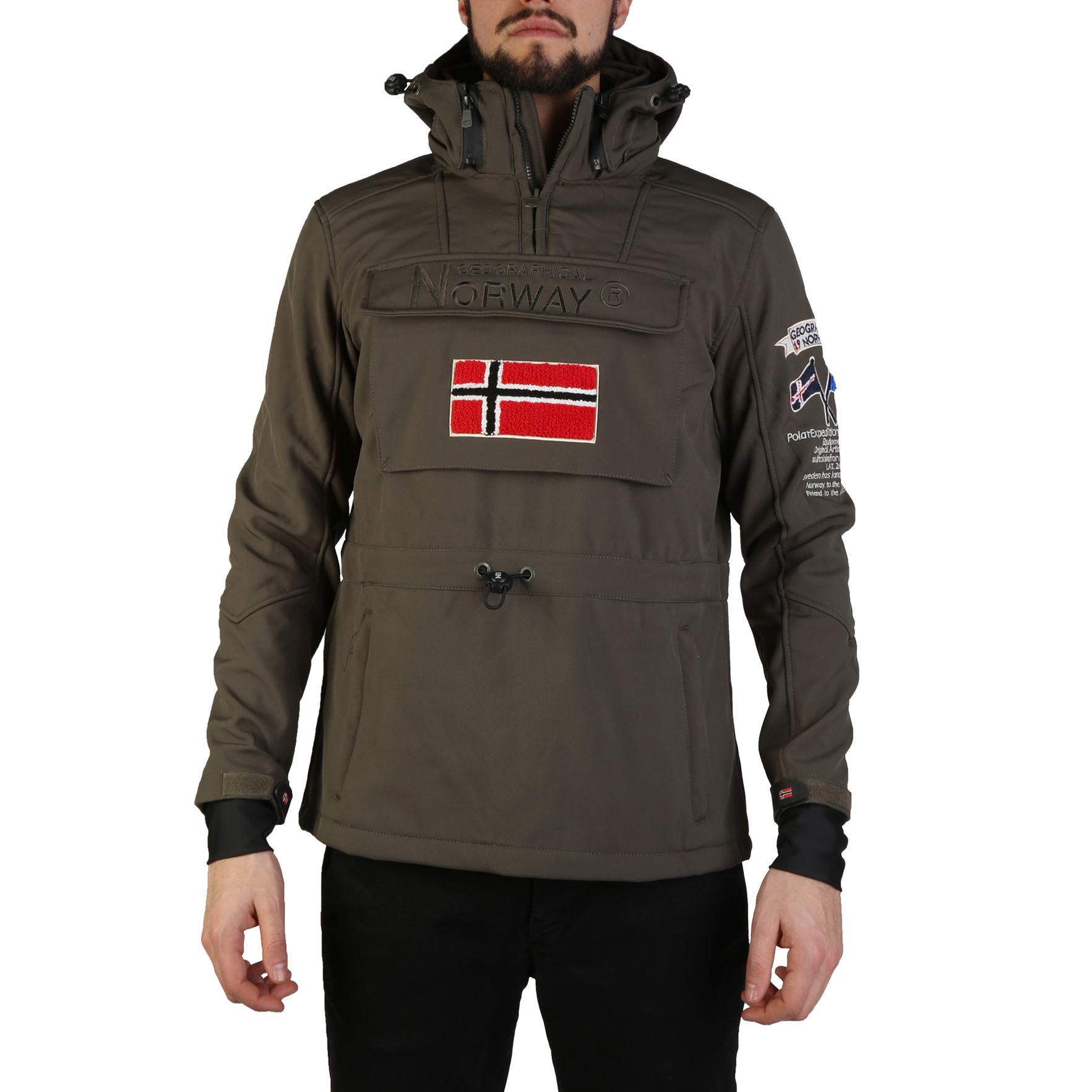 Giacche Geographical Norway Target_man Uomo Verde 97329