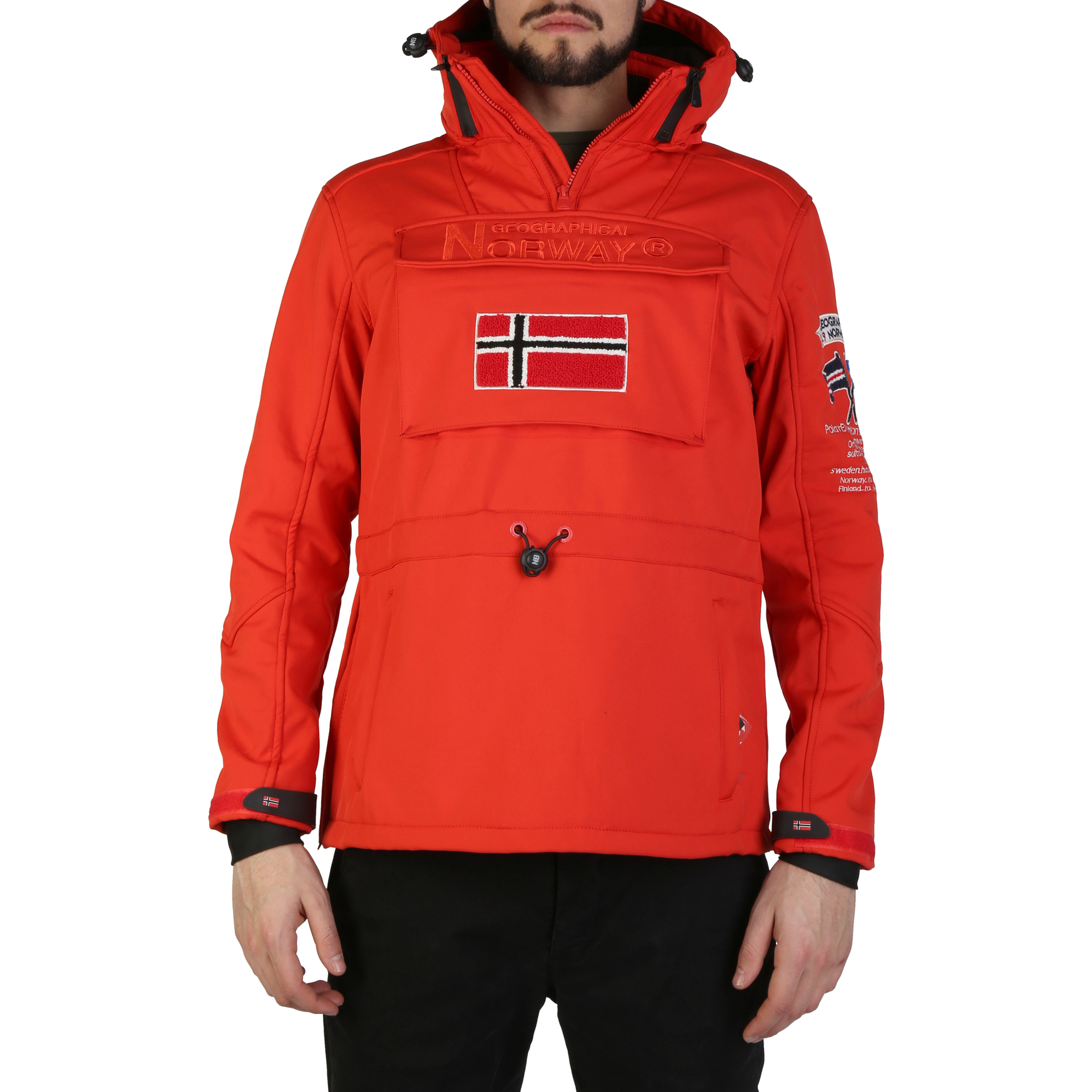 Giacche Geographical Norway Target_man Uomo Rosso 97330