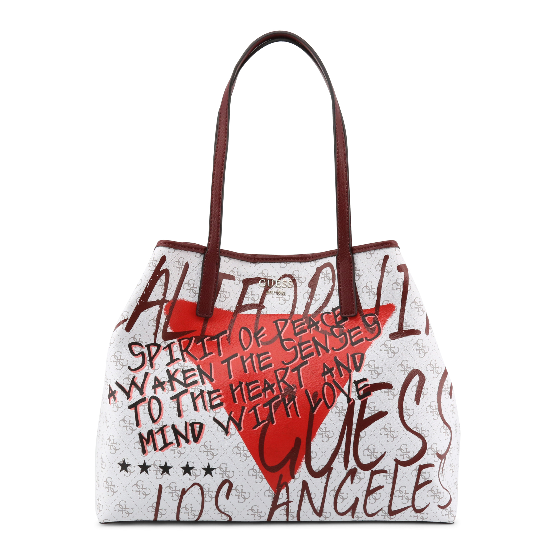 Shopping bag Guess HWQG69_95240 Donna Bianco 97860