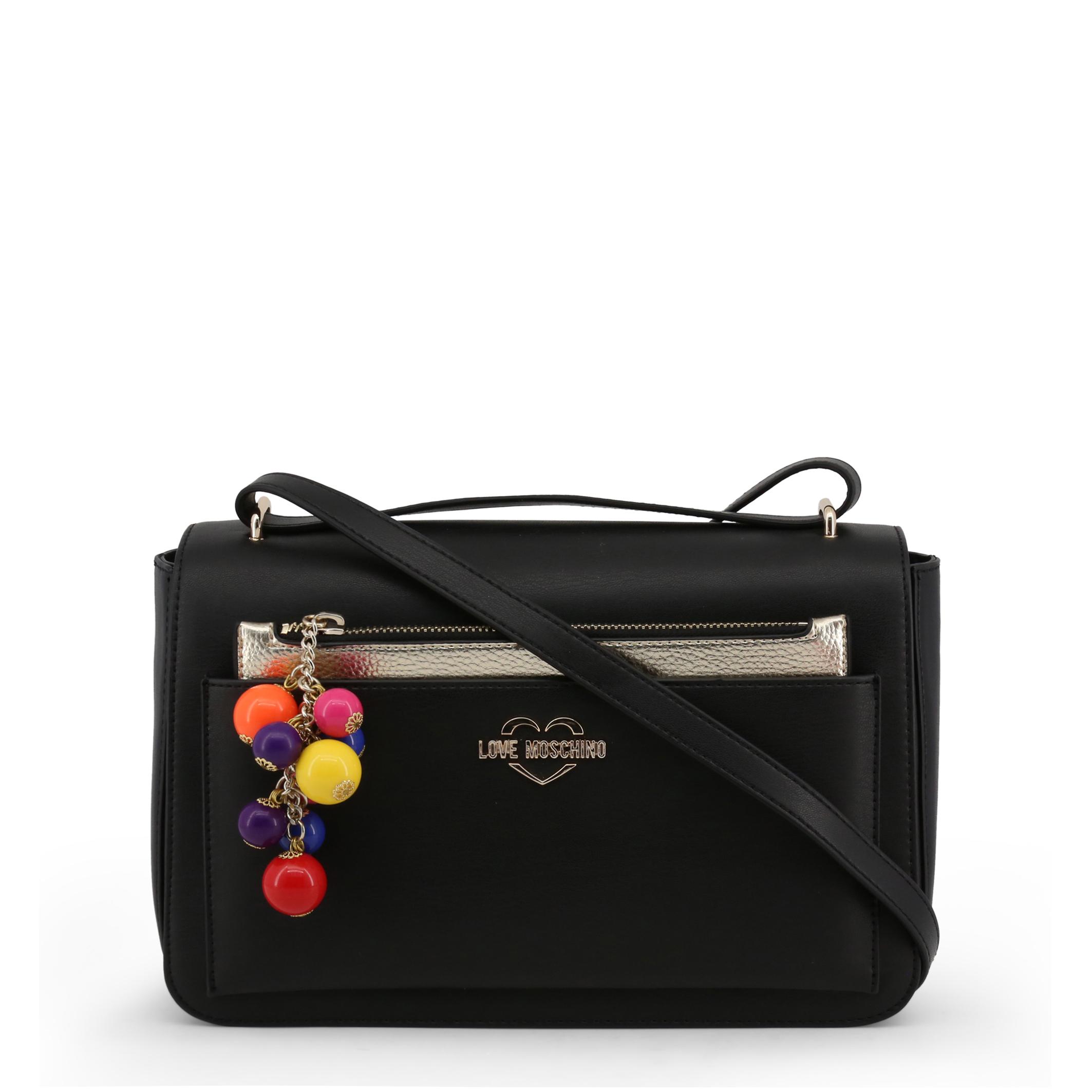 a2295bb664 Love Moschino Womens Crossbody Bag Black 8032698295095   eBay