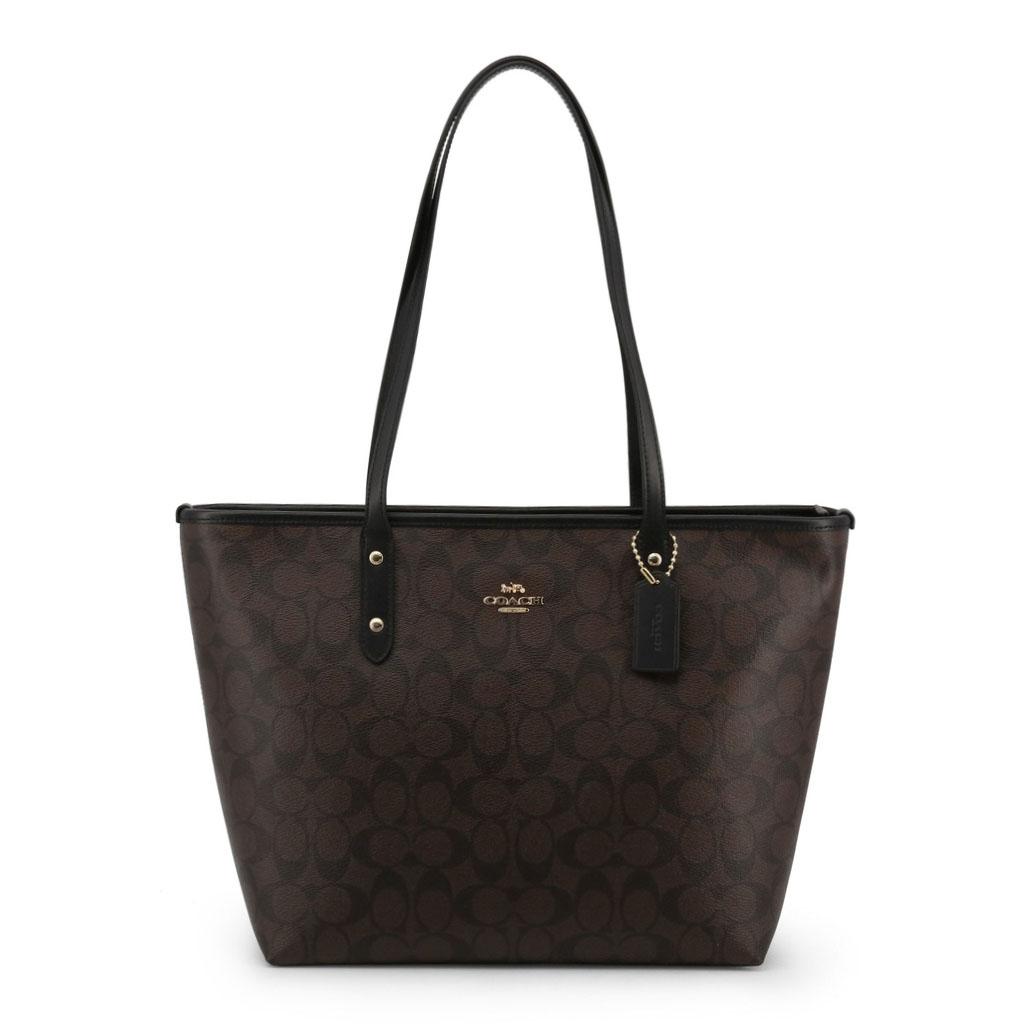 Shopping bag Coach F58292 Donna Marrone 99911