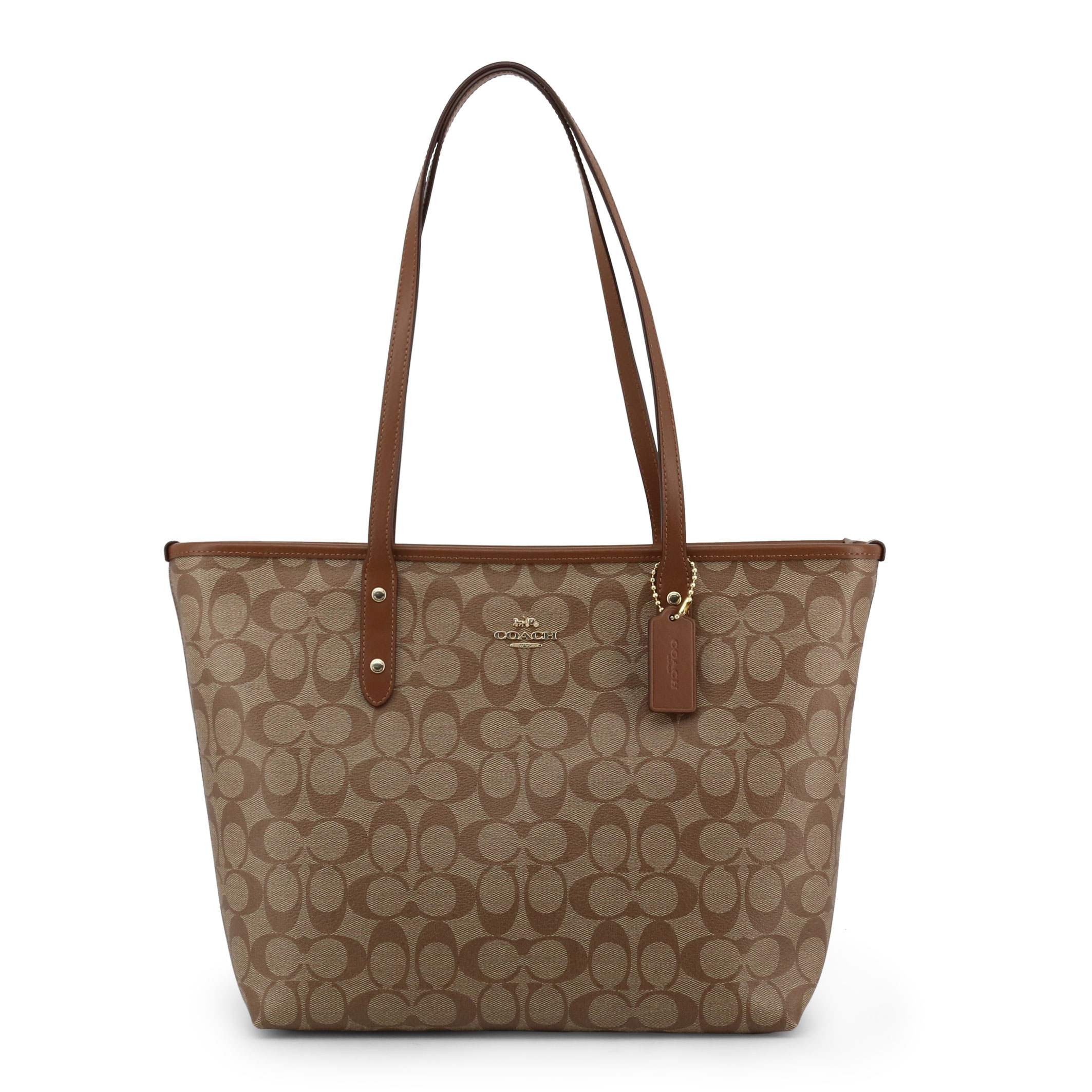 Shopping bag Coach F58292 Donna Marrone 99912