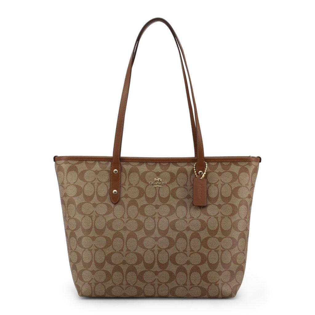 Shopping bag Coach F58292 Donna Marrone 99912